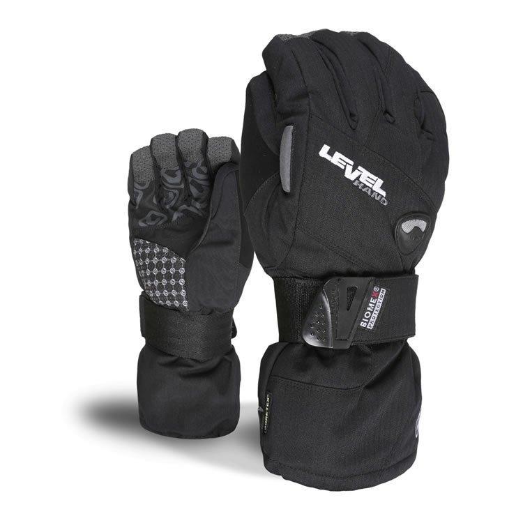 Rękawice Level Womens Half Pipe XCR czarne