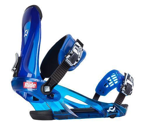 Wiązania snowboardowe Ride KX niebieskie