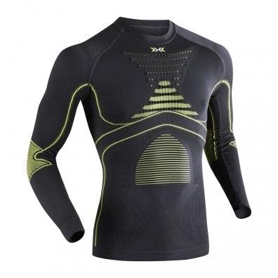 Koszulka X-Bionic Evo  czarno|zielona