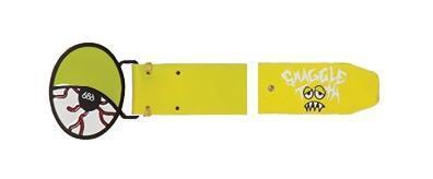 Pasek 686 Snaggletooth Eyeball żółty