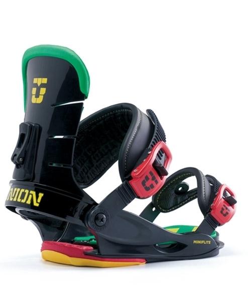 Wiązania snowboardowe Union  Mini Flite czarne