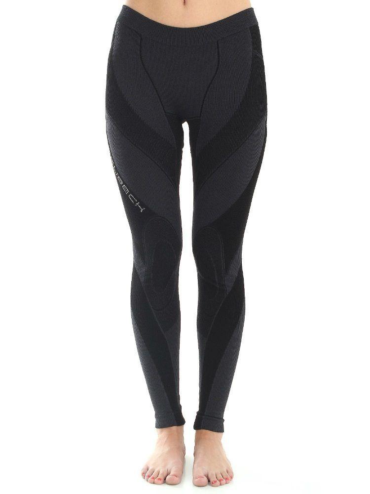 Spodnie damskie Brubeck Extreme Merino czarne