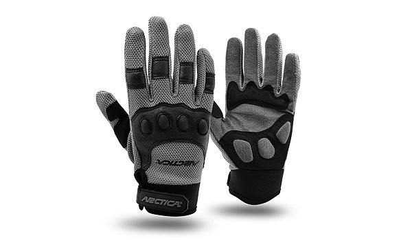 Rękawice Arctica OG-02 czarne|szare