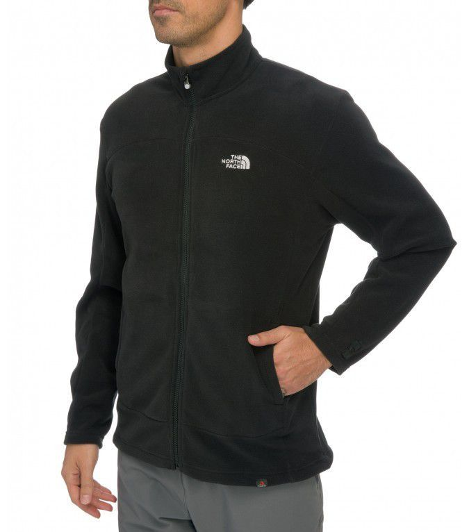 Polar The North Face 100 Glacier Full Zip czarny