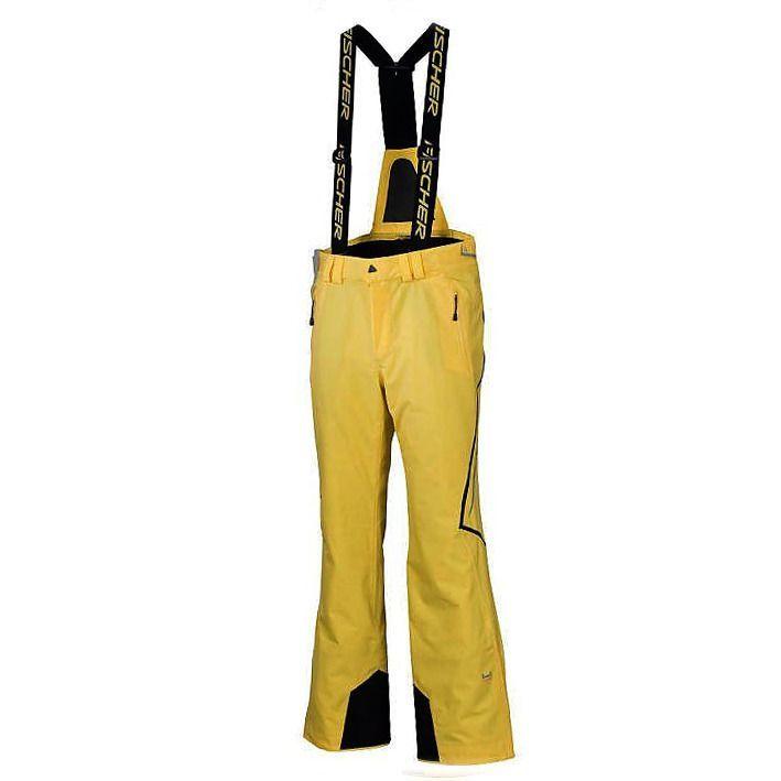 Spodnie Fischer Ontario żółte