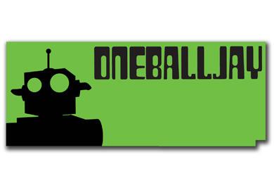 Cyklina Oneballjay Roboto Plastic
