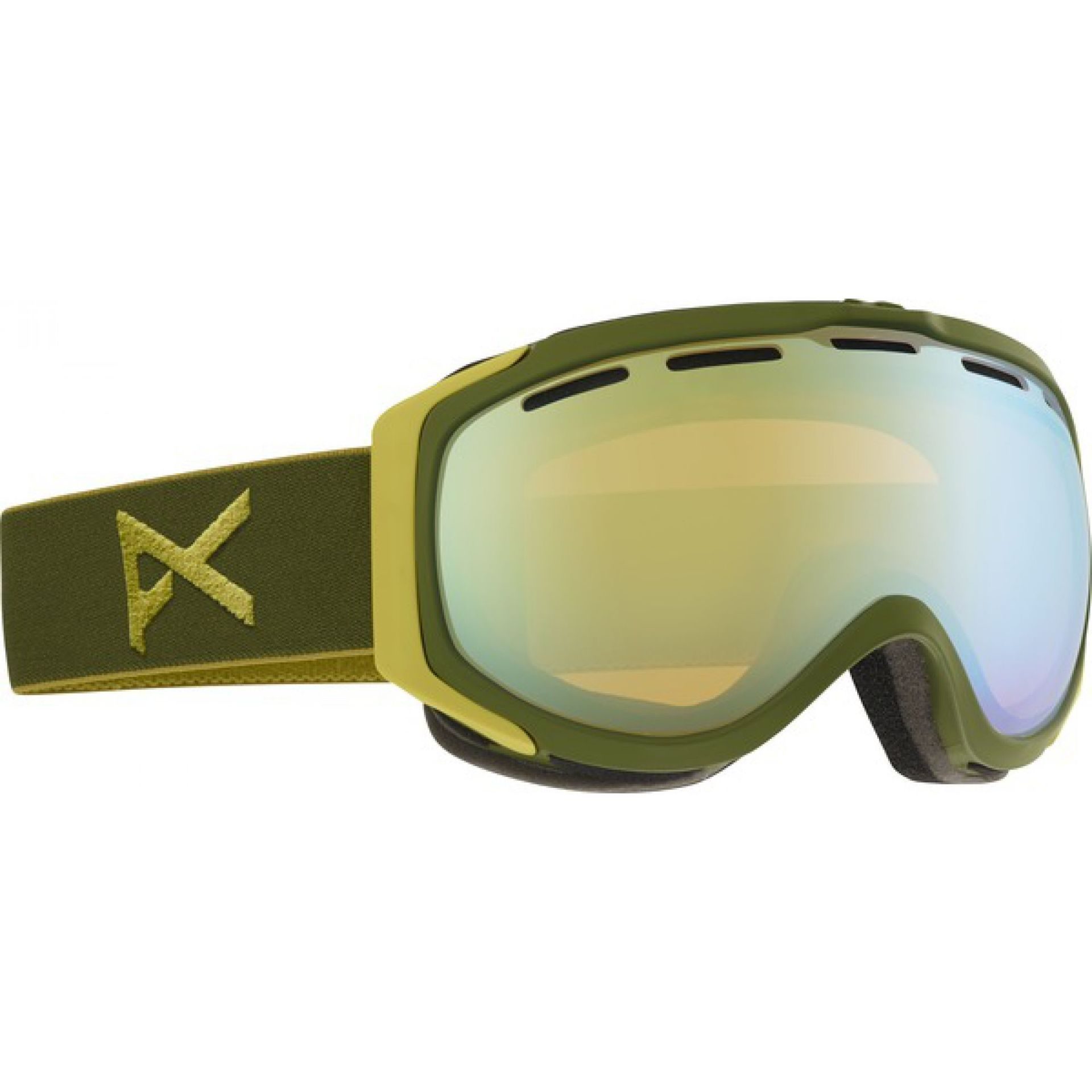 GOGLE ANON HAWKEYE BOYSCOUT|GOLD CHROME