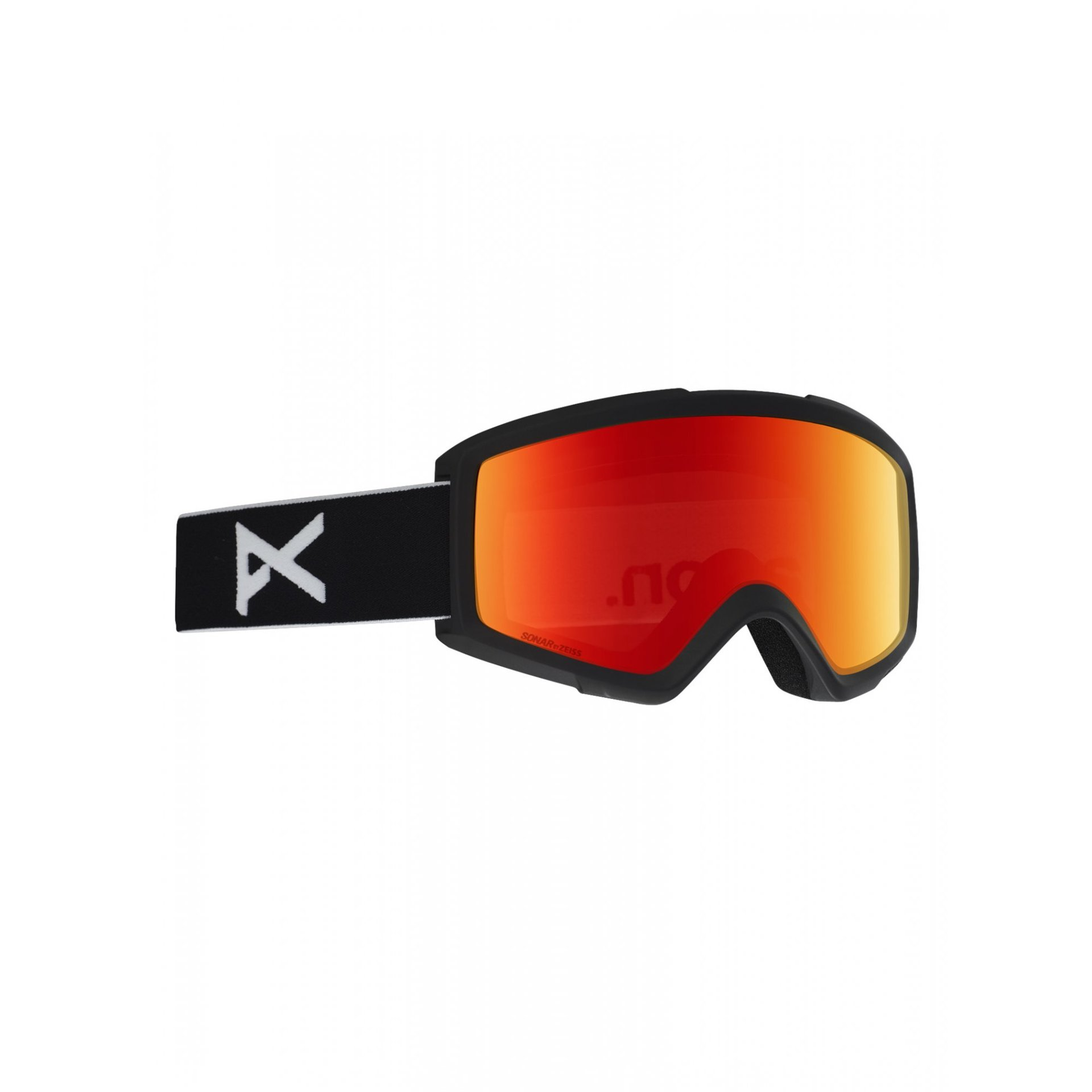 GOGLE ANON HELIX 2.0 BLACK|SONAR RED 1