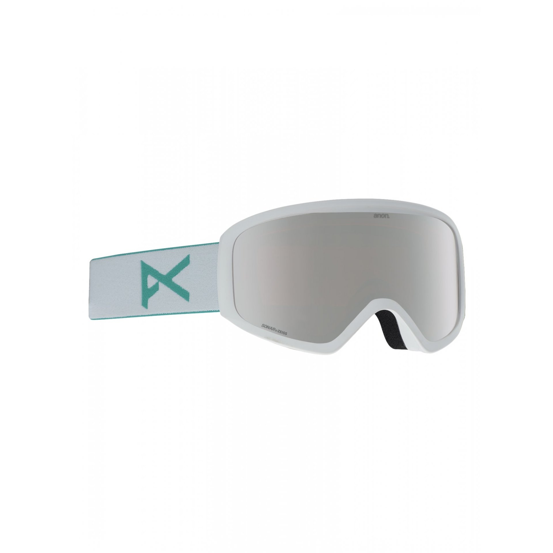 GOGLE ANON INSIGHT WHITE|SONAR SILVER 1