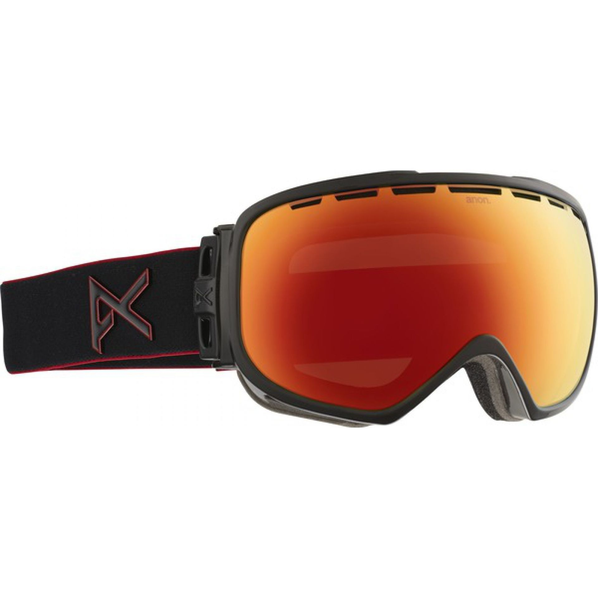 GOGLE ANON INSURGENT BLACK EMBLEM|RED SOLEX