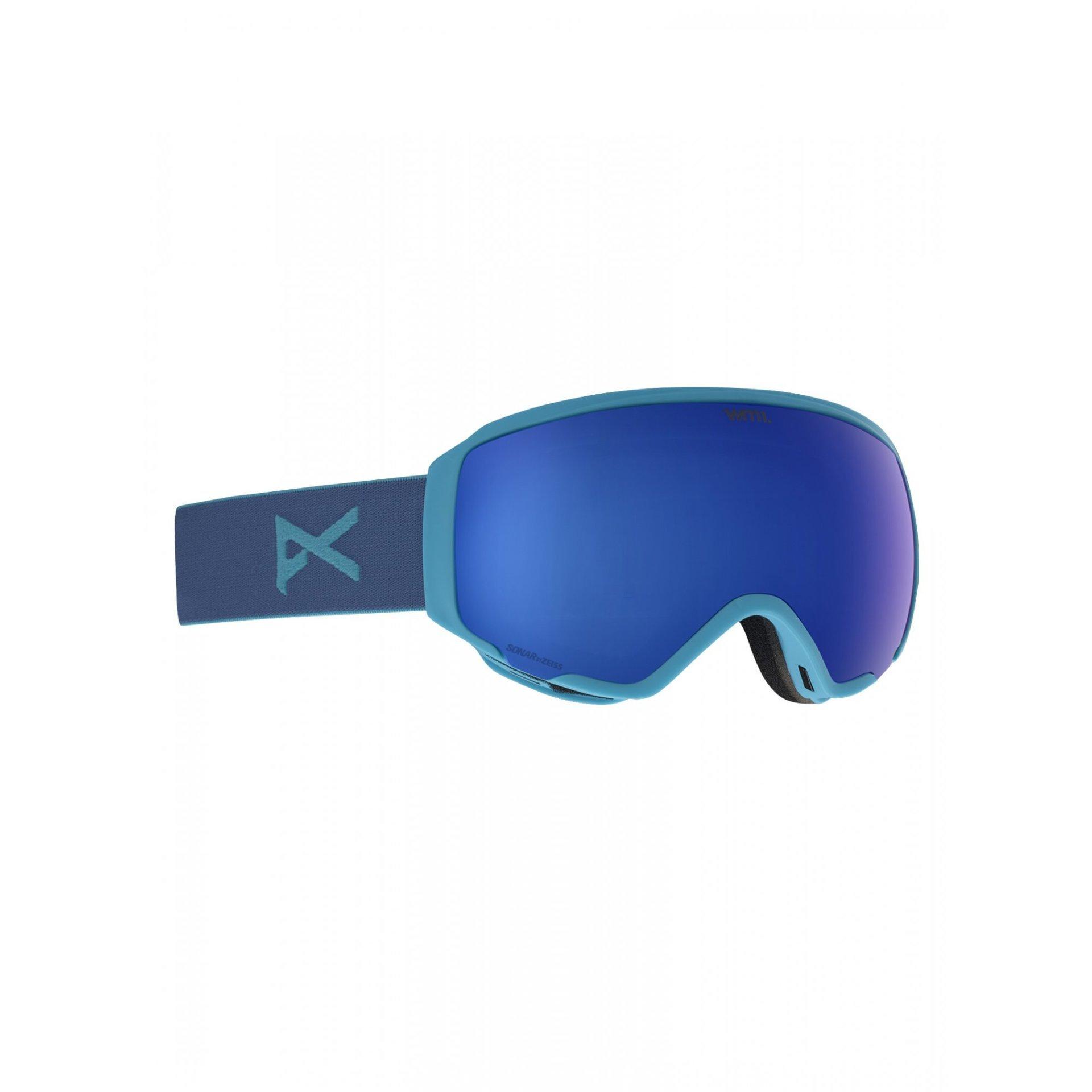 GOGLE ANON WM1 BLUE|SONAR INFRARED BLUE 1