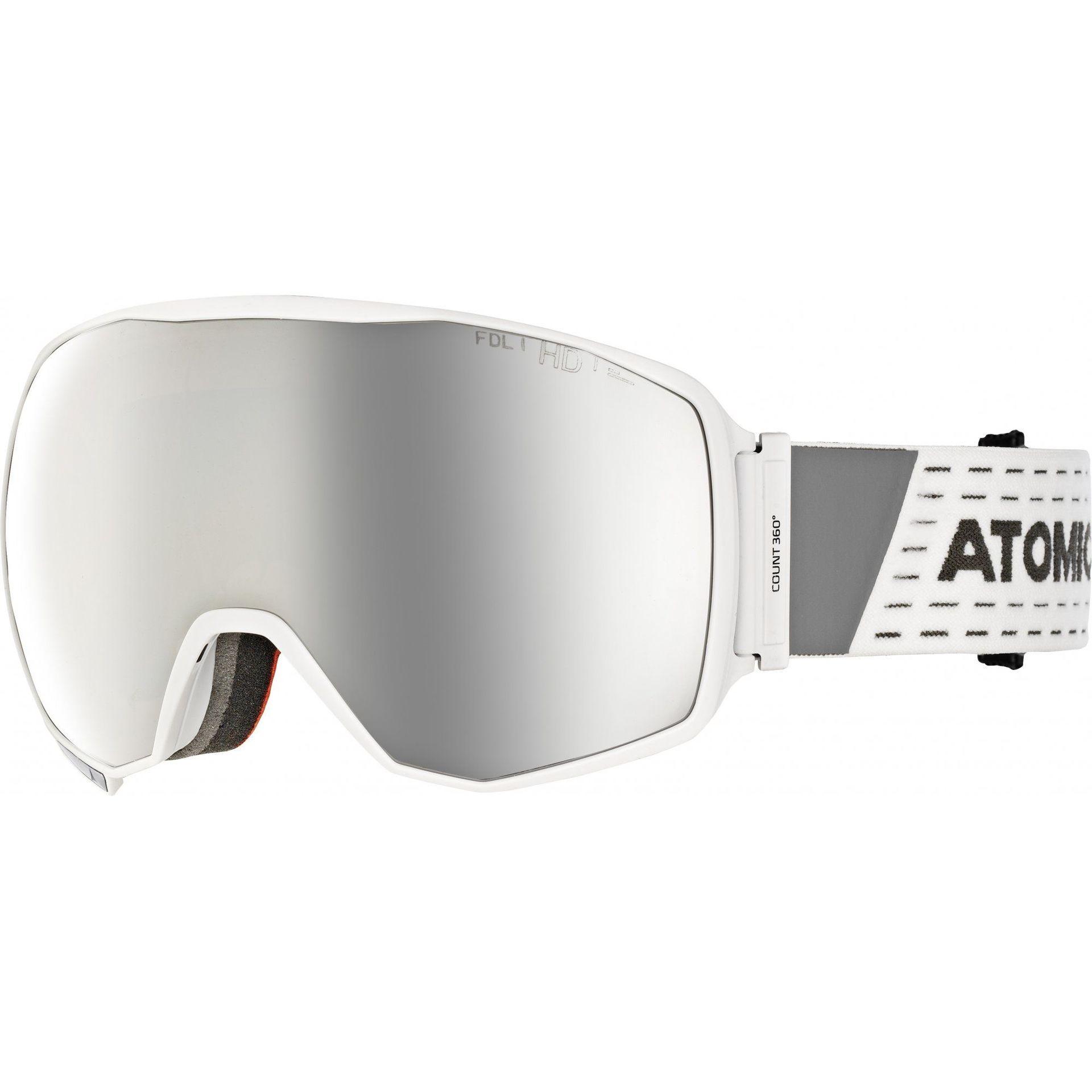 GOGLE ATOMIC COUNT 360° HD WHITE SILVER HD AN5105618