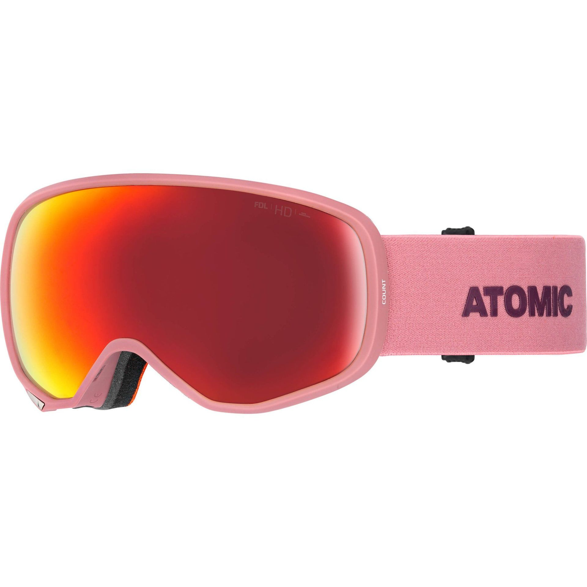 GOGLE ATOMIC COUNT S 360° HD ROSE|NIGHTSHADE|RED HD AN5105778