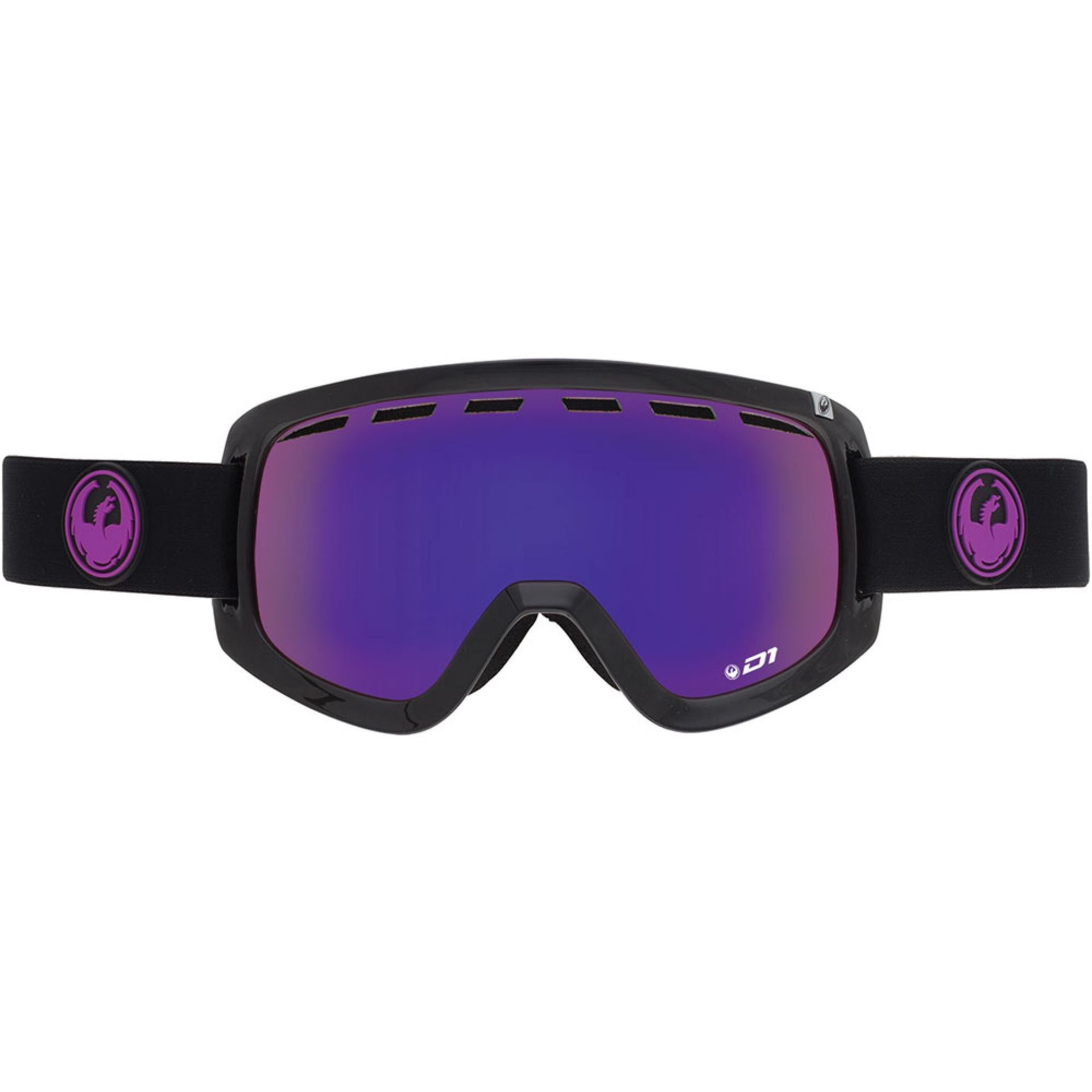 GOGLE DRAGON D1 JET PURPLE ION