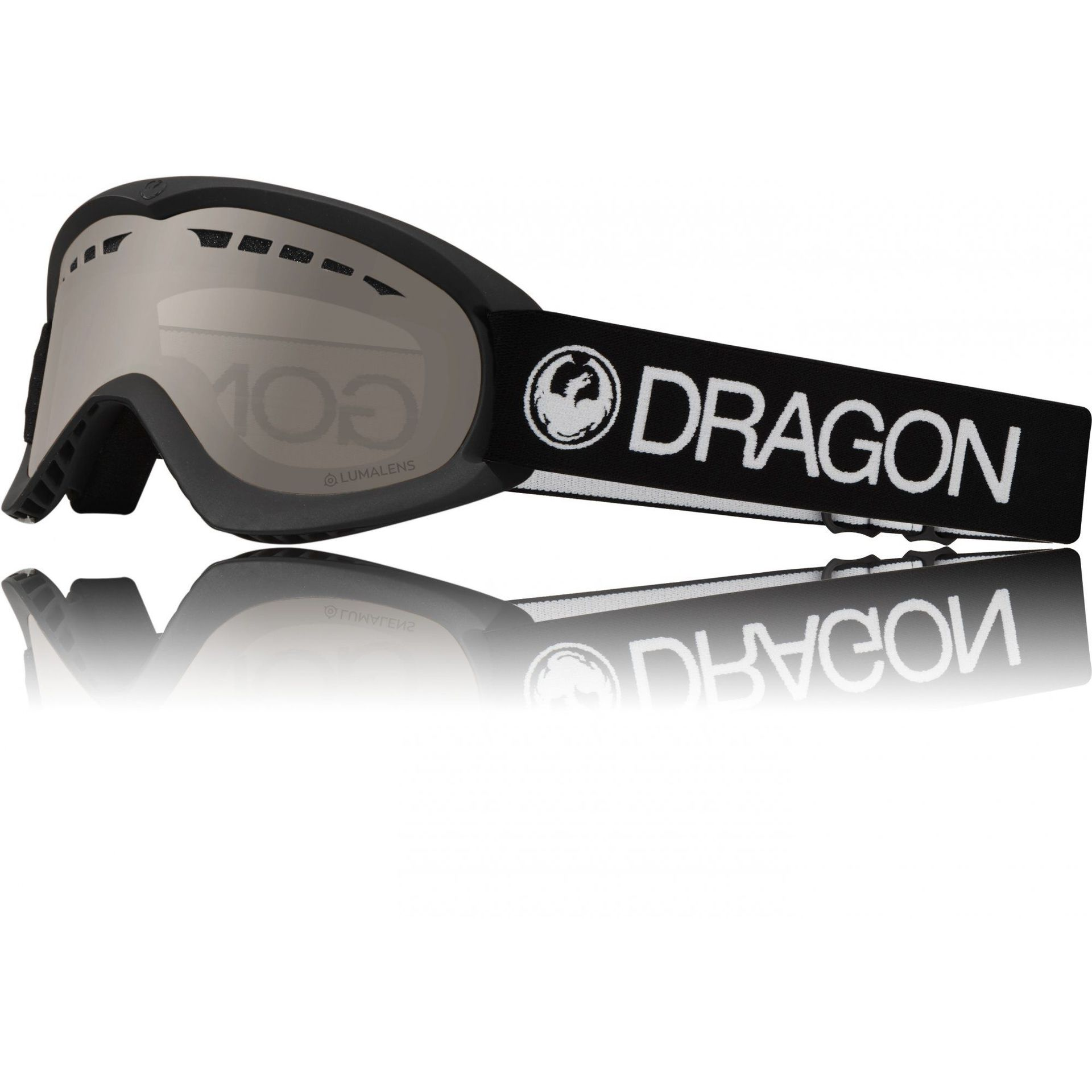 GOGLE DRAGON DX BLACK|SILVER ION