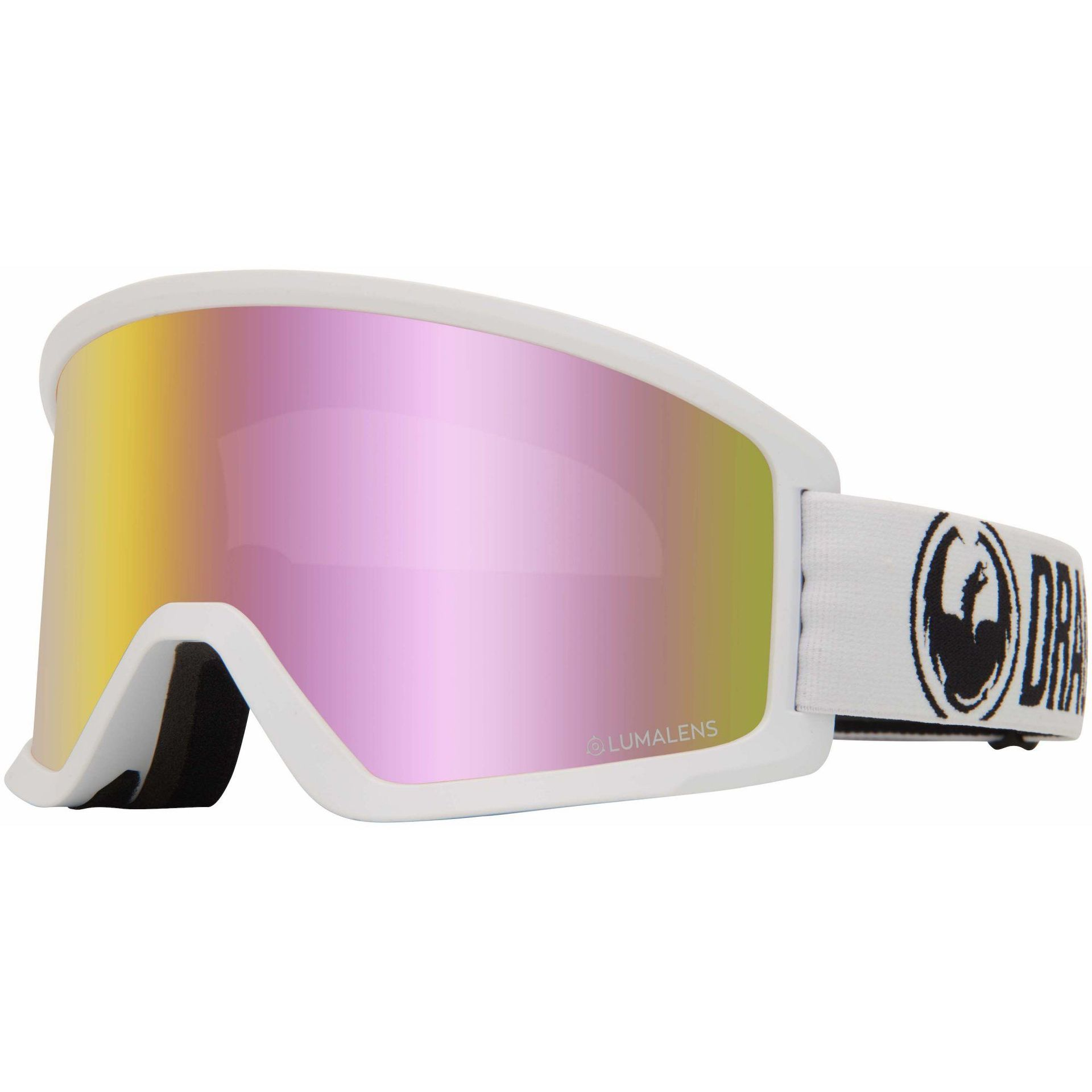 GOGLE DRAGON DX3 OTG WHITE|PINK ION 1