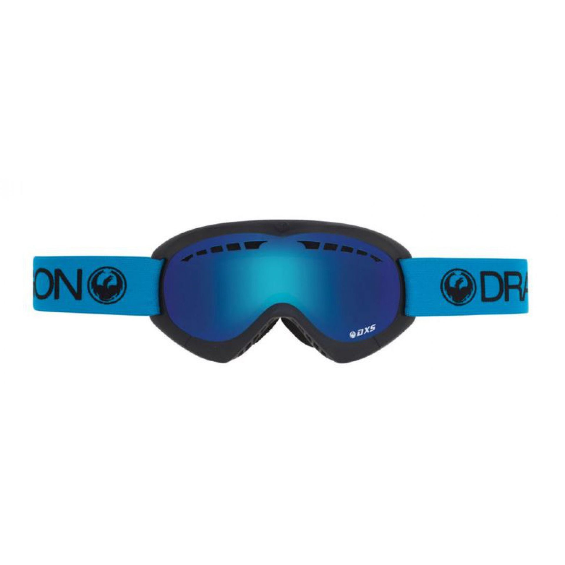 GOGLE DRAGON  DXS  ROYAL|BLUE STEEL