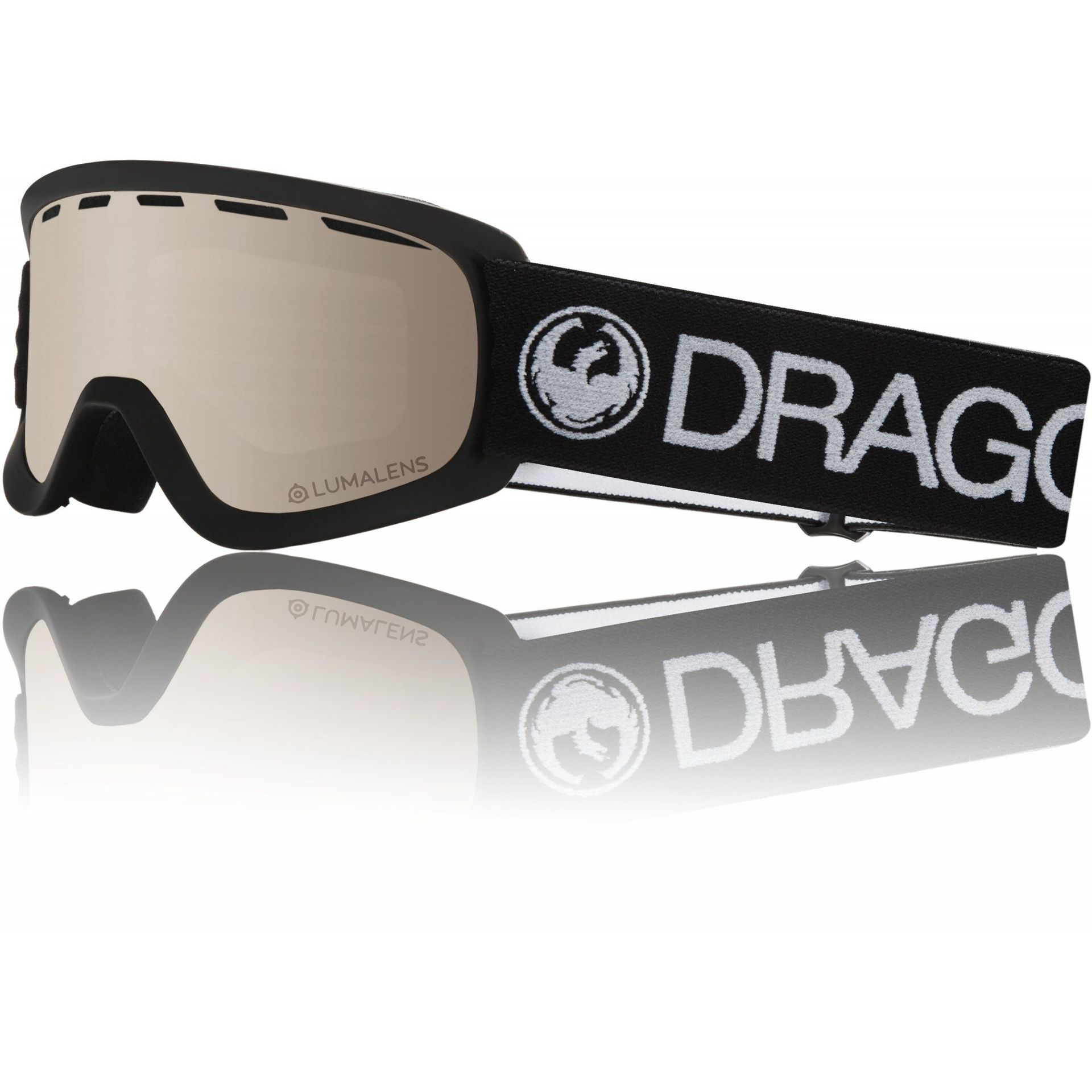 GOGLE DRAGON LIL D BLACK|SILVER ION