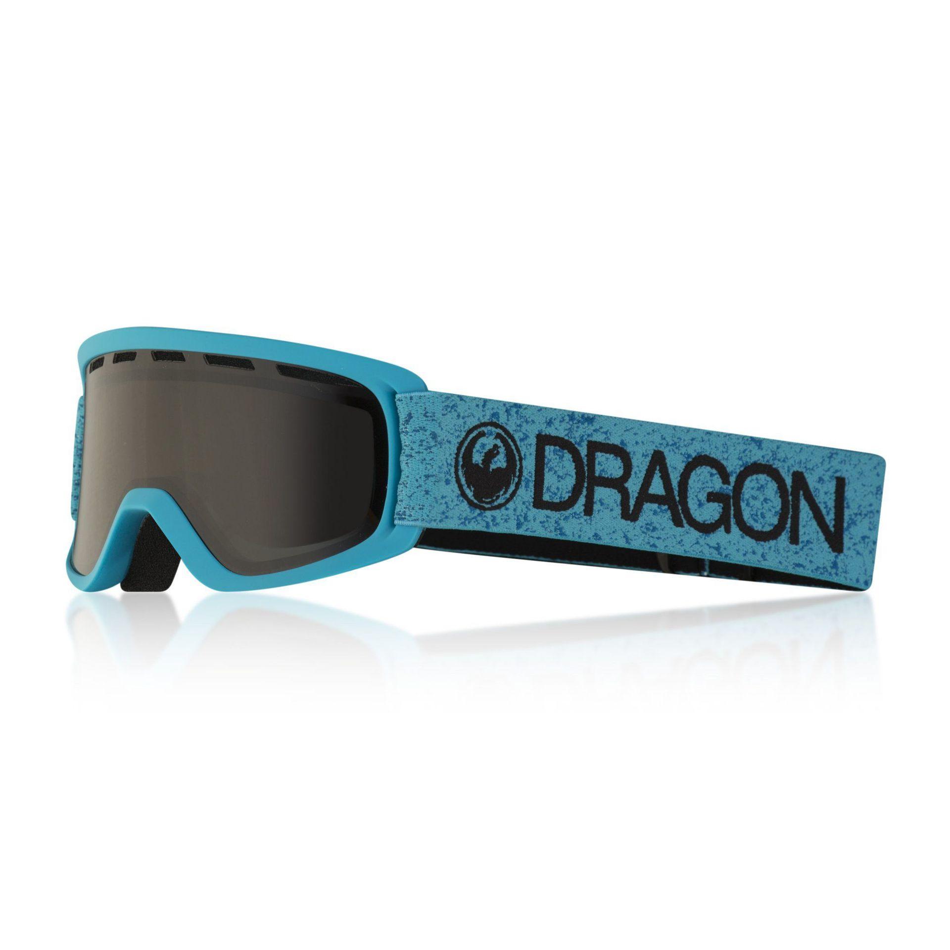 GOGLE DRAGON LIL D BLUE|DARK SMOKE