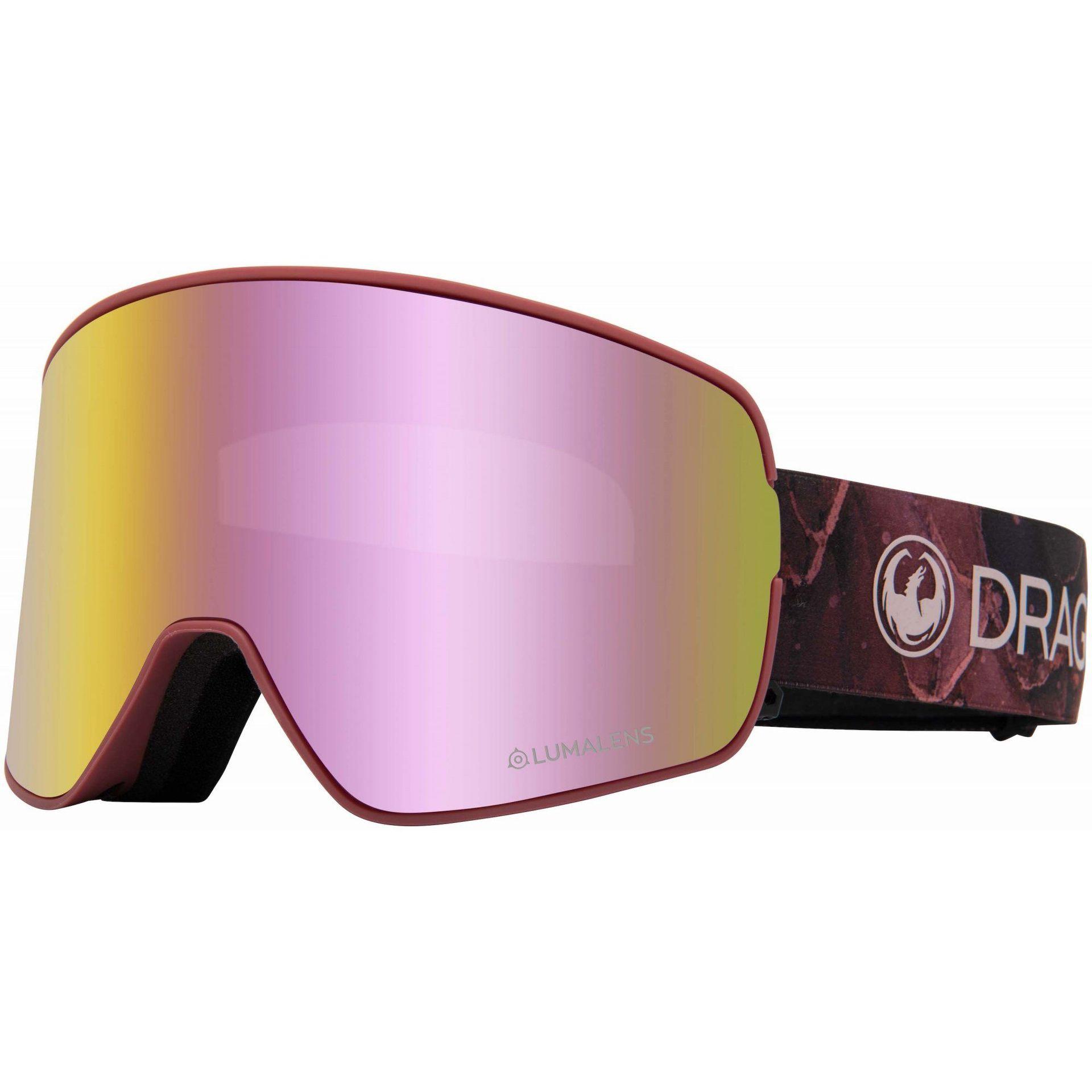 GOGLE DRAGON NFX2 ROSE PINK ION 1