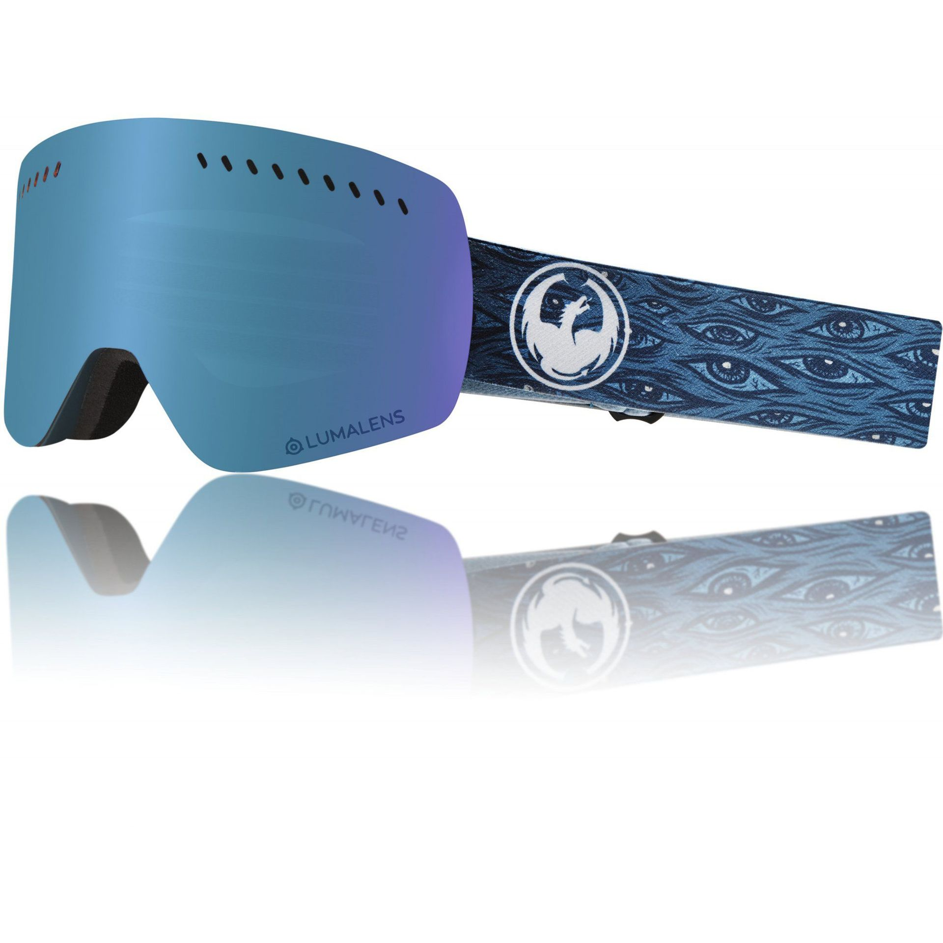 GOGLE DRAGON NFXS MIDNIGHT|BLUE ION