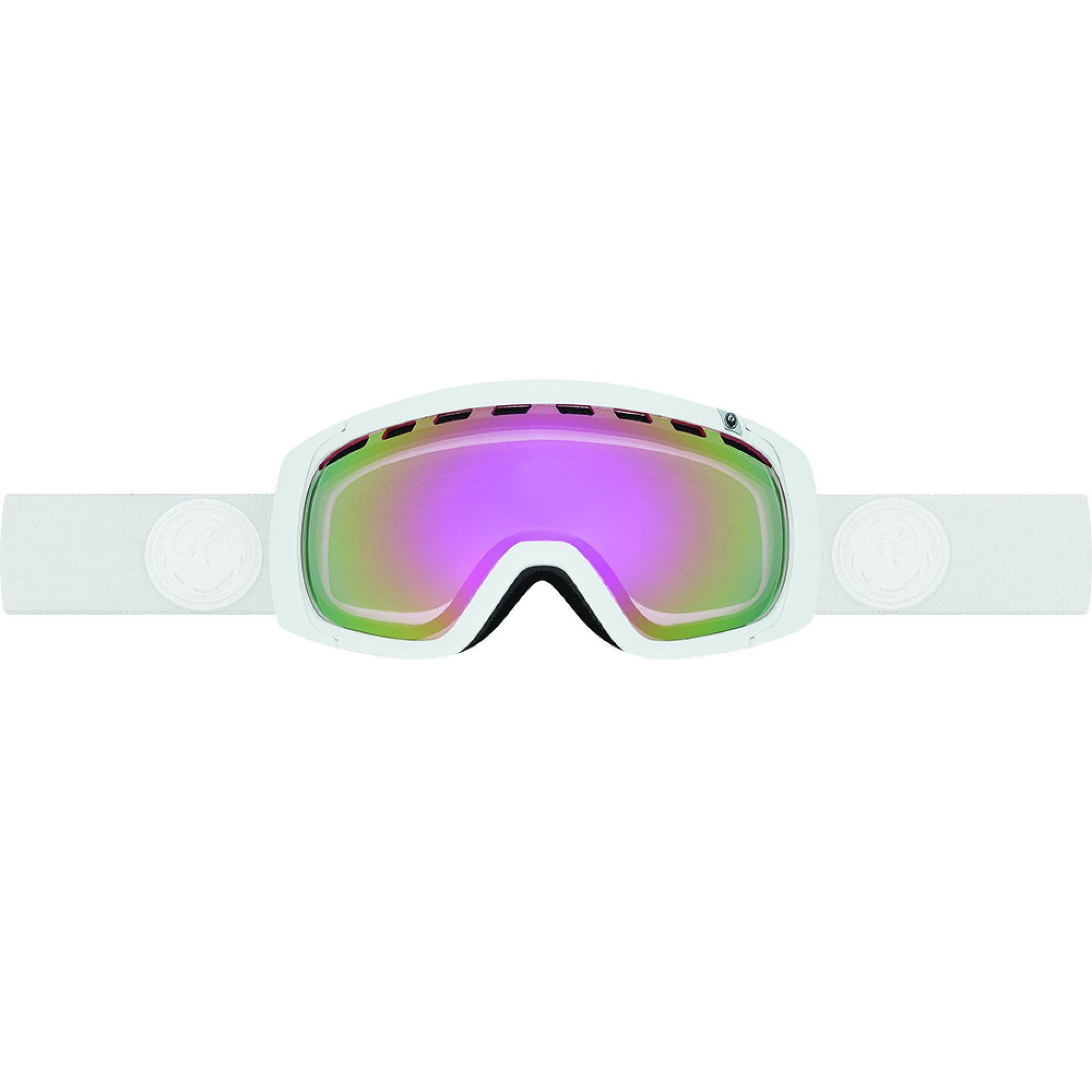 GOGLE DRAGON ROGUE WHITEOUT|PINK IONIZED|ION
