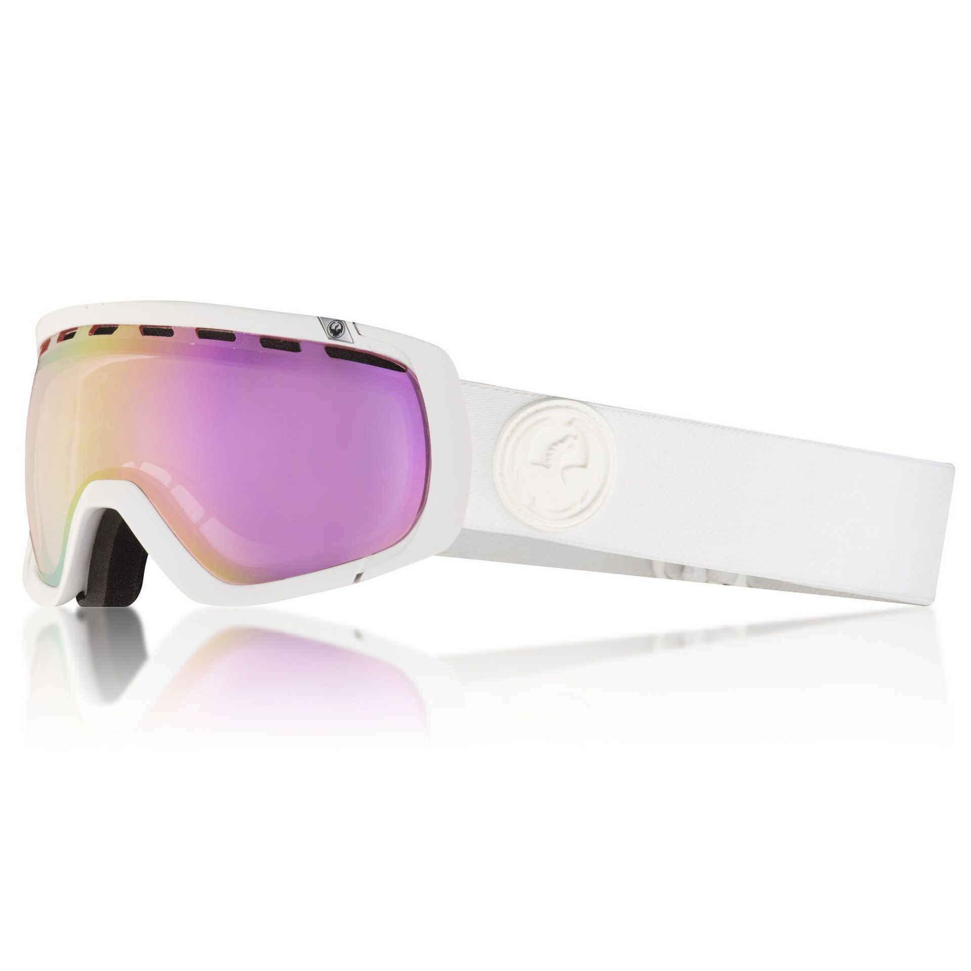 GOGLE DRAGON ROGUE WHT|PINK ION