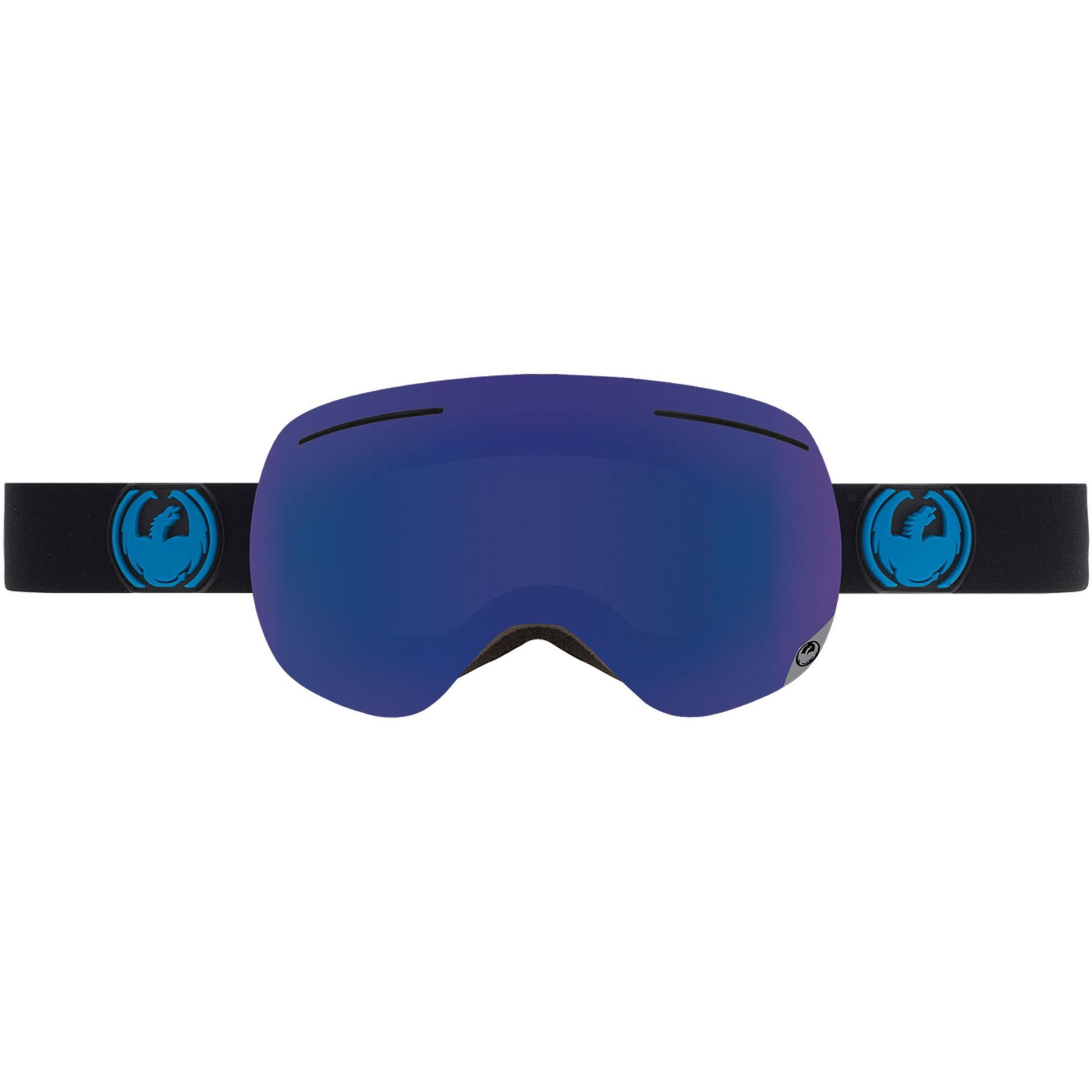 GOGLE DRAGON X1 JET DARK SMOKE BLUE