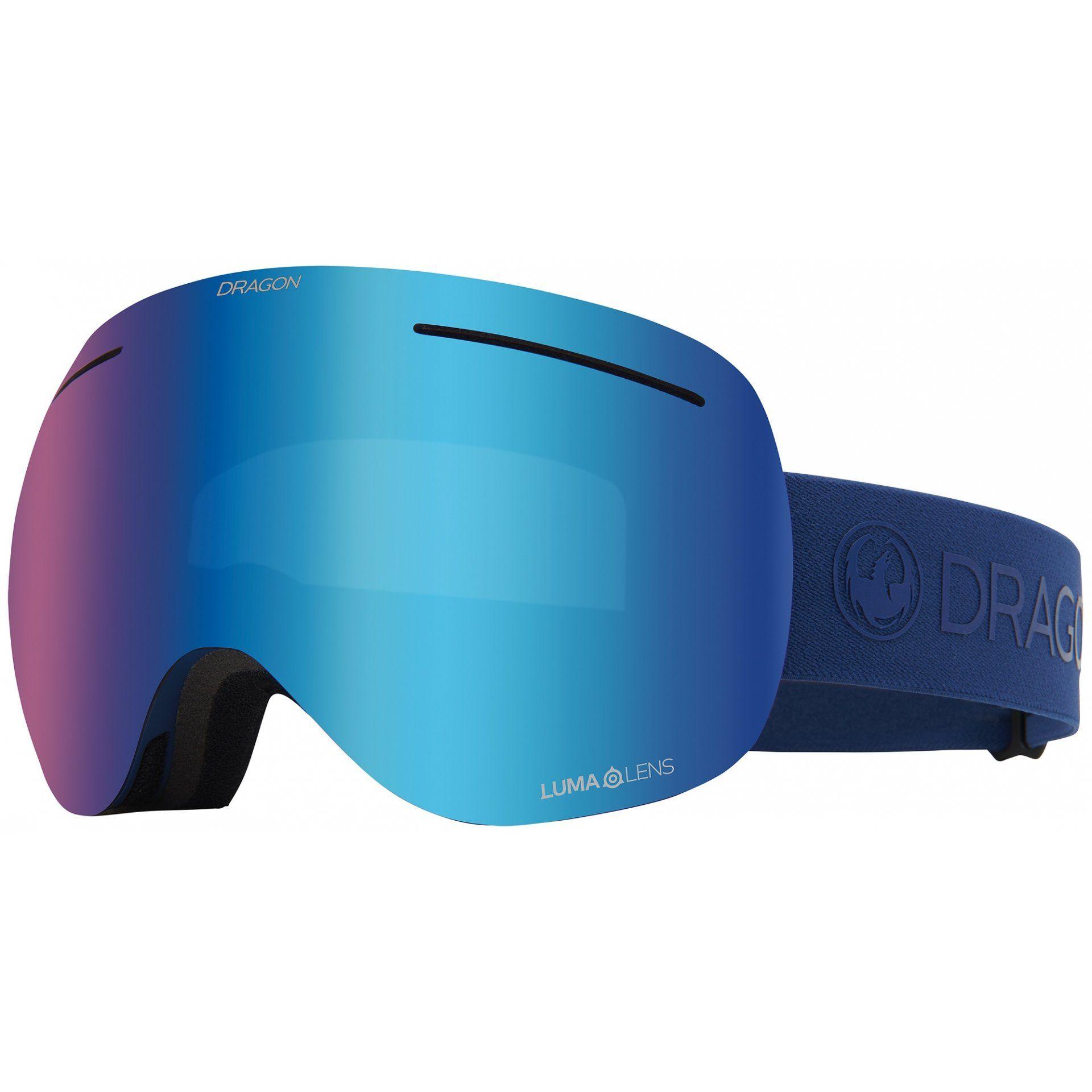 GOGLE DRAGON X1 NAVY BLUE ION
