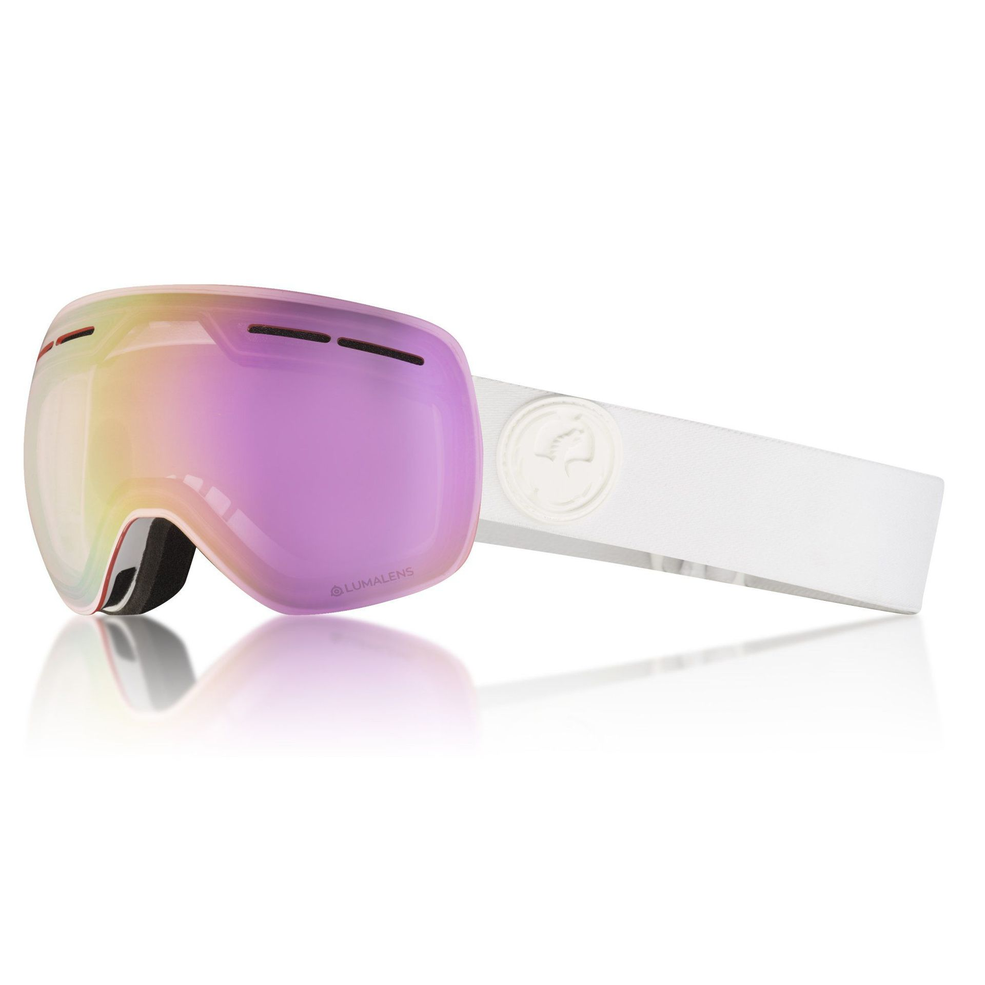 GOGLE DRAGON X1S WHITEOUT|PINK ION