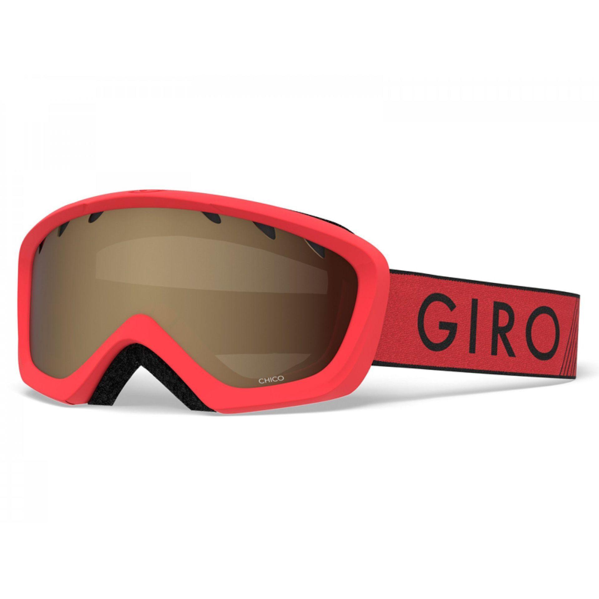 GOGLE GIRO CHICO RED BLACK ZOOM|AMBER ROSE 1