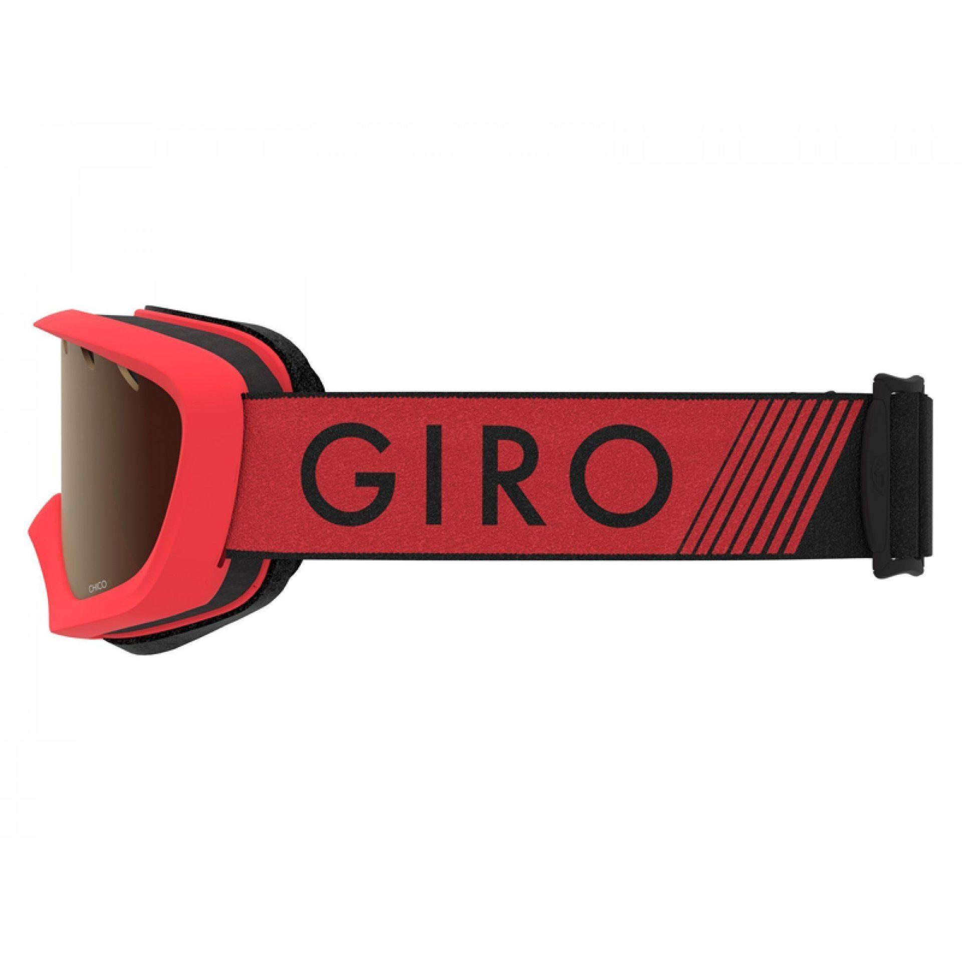 GOGLE GIRO CHICO RED BLACK ZOOM|AMBER ROSE 3