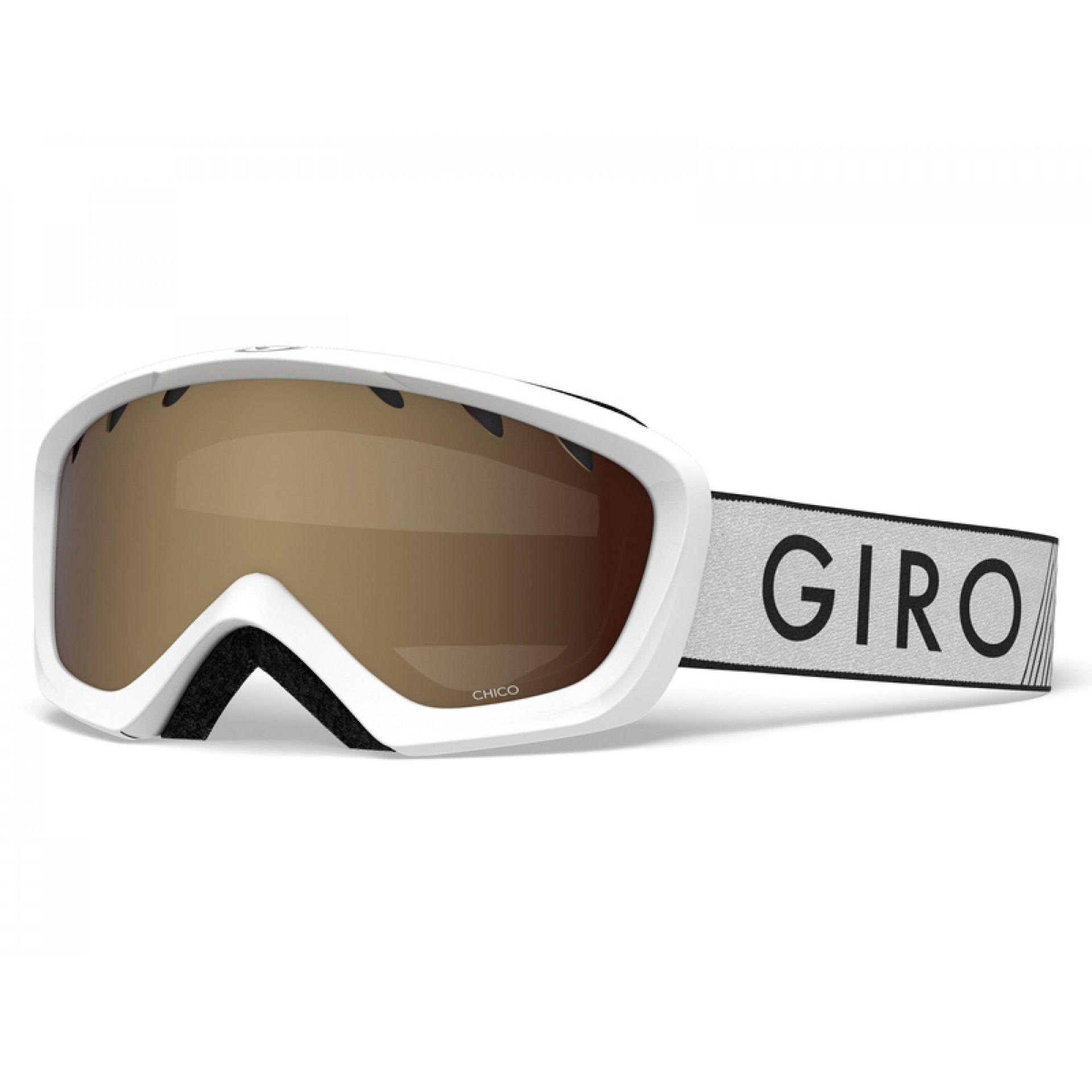 GOGLE GIRO CHICO WHITE ZOOM|AMBER ROSE 1
