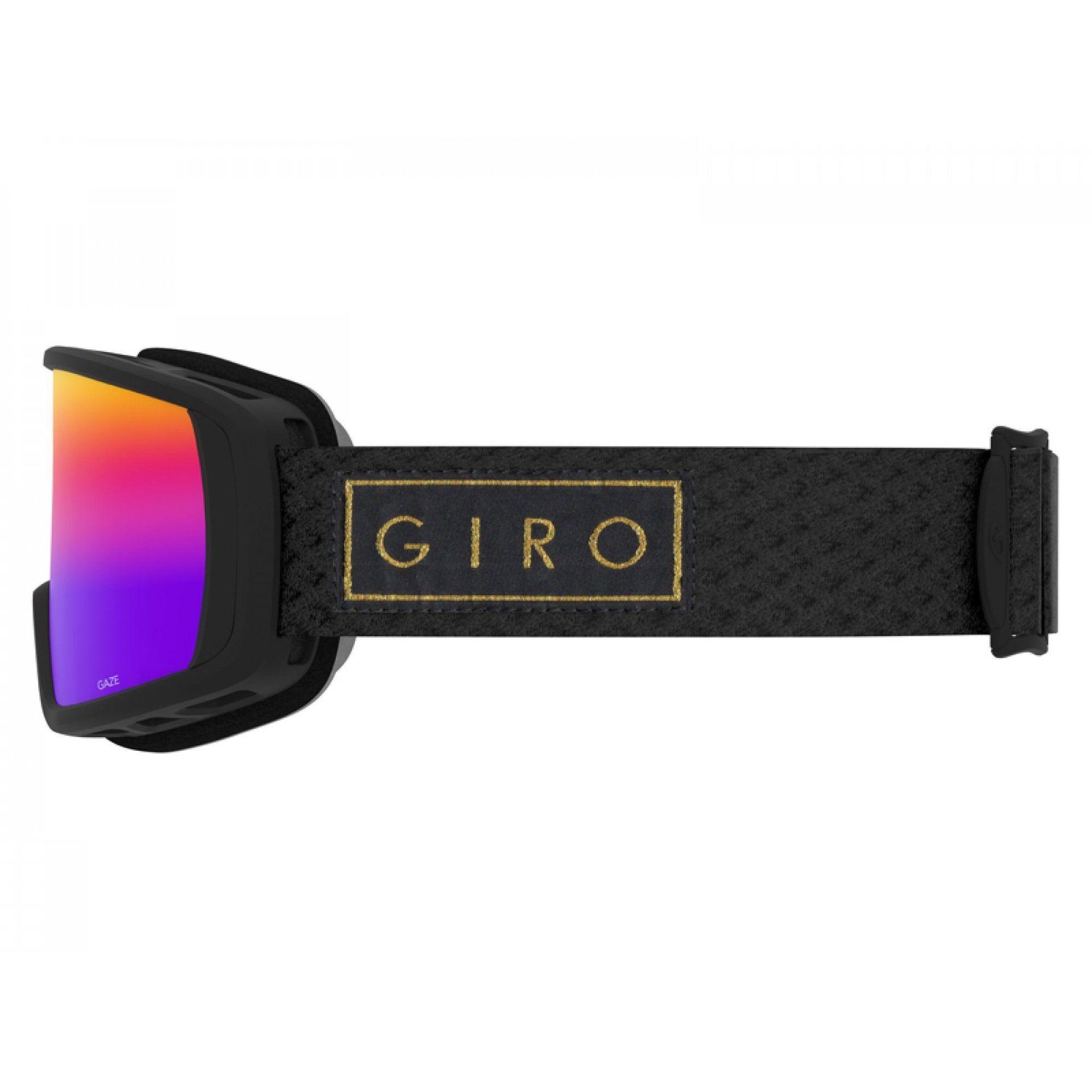 GOGLE GIRO GAZE BLACK GOLD BAR|ROSE SPECTRUM 3