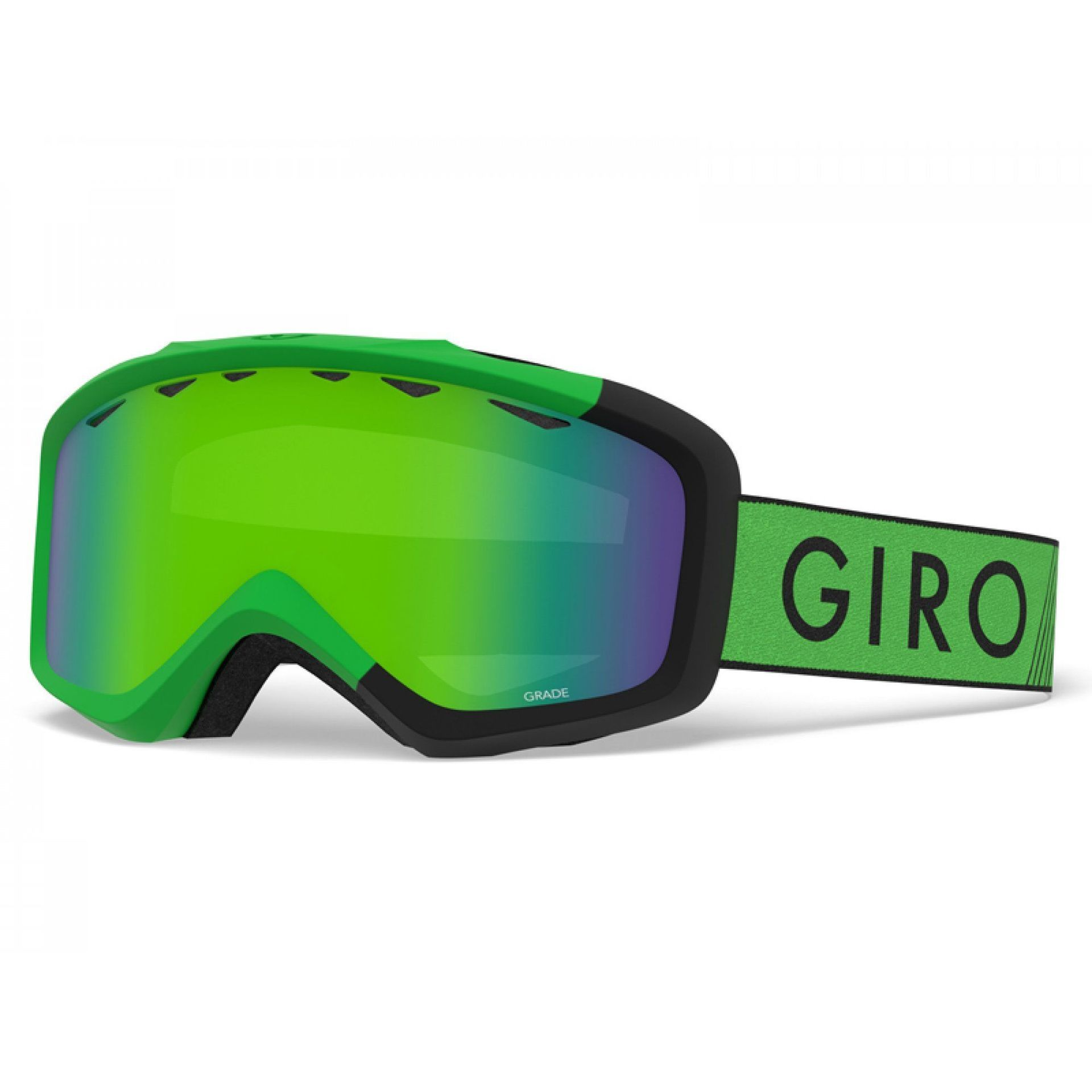GOGLE GIRO GRADE BRIGHT GREEN BLACK ZOOM|LODEN GREEN 1
