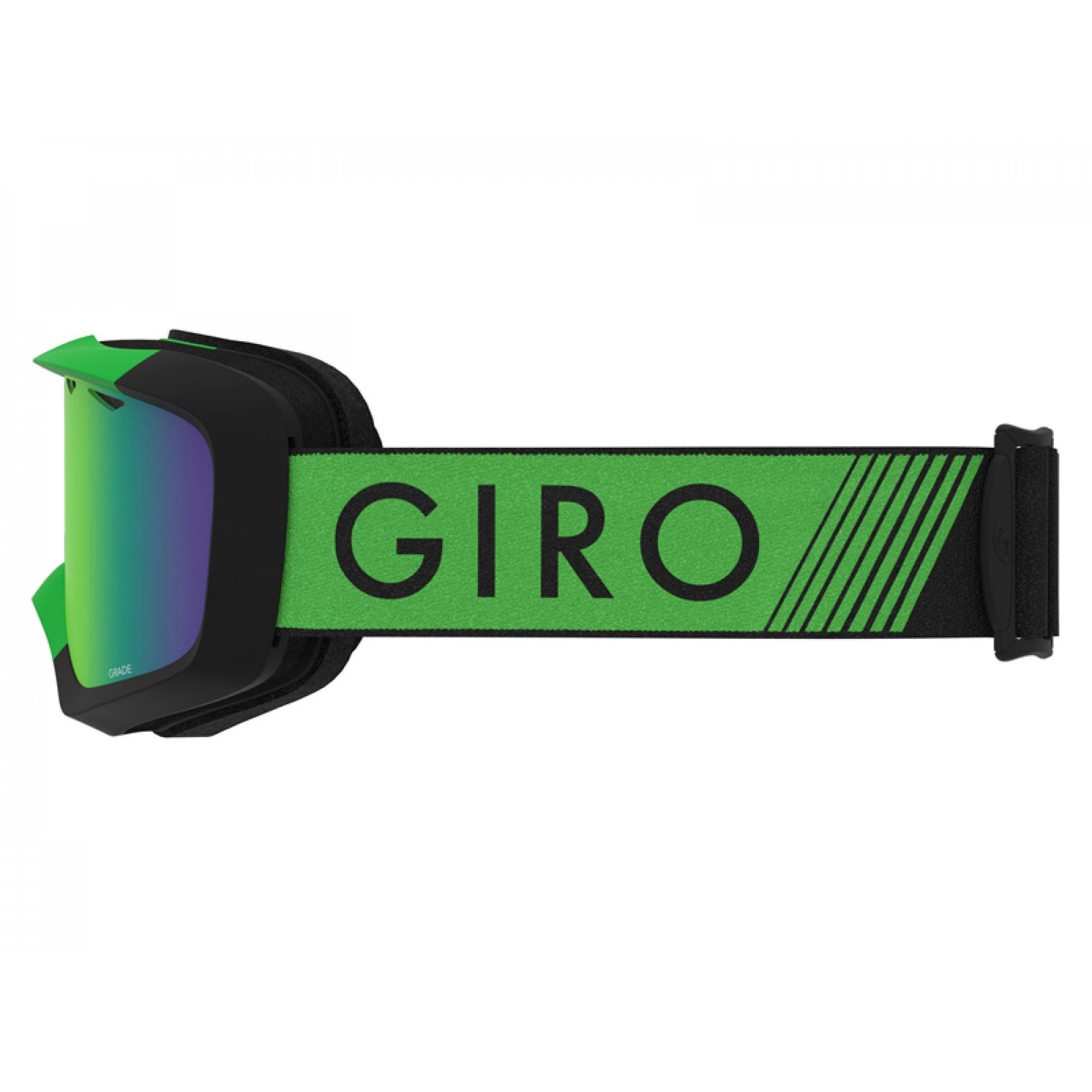GOGLE GIRO GRADE BRIGHT GREEN BLACK ZOOM|LODEN GREEN 3