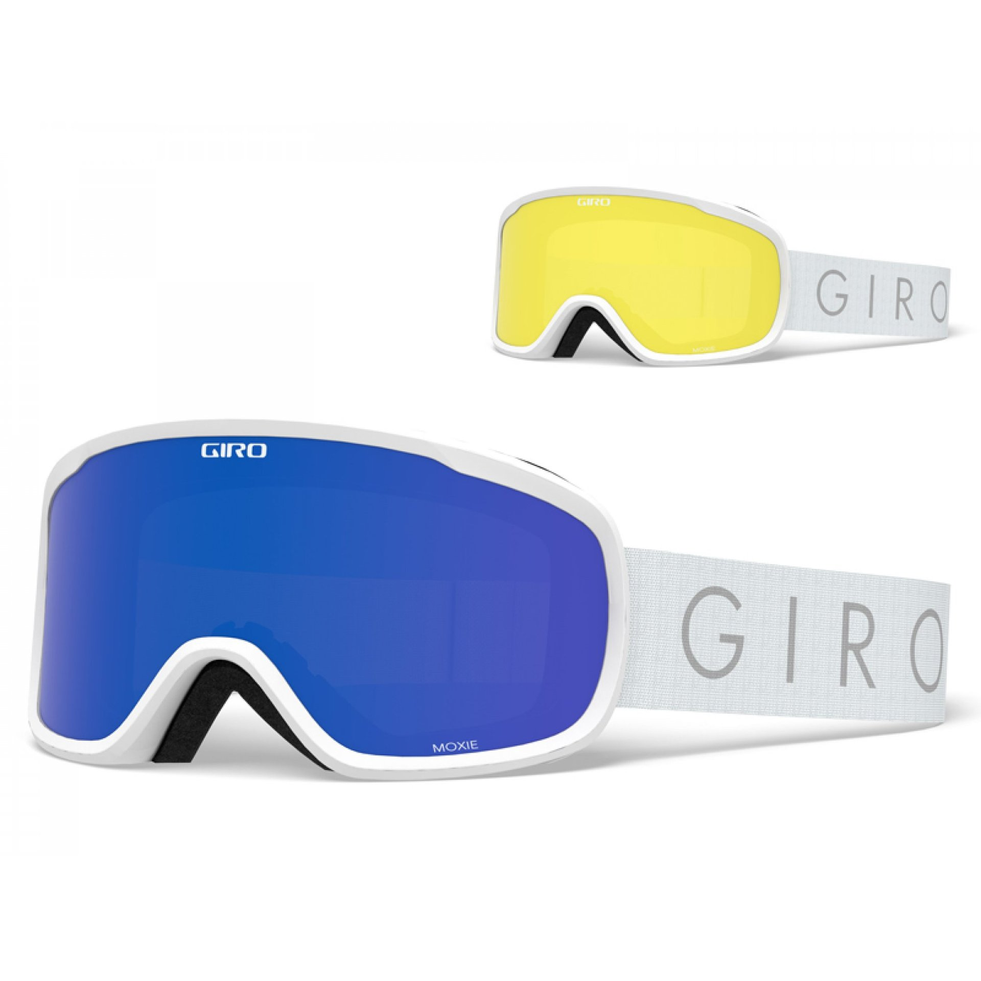 GOGLE GIRO MOXIE WHITE CORE LIGHT|GREY COBALT+YELLOW 1