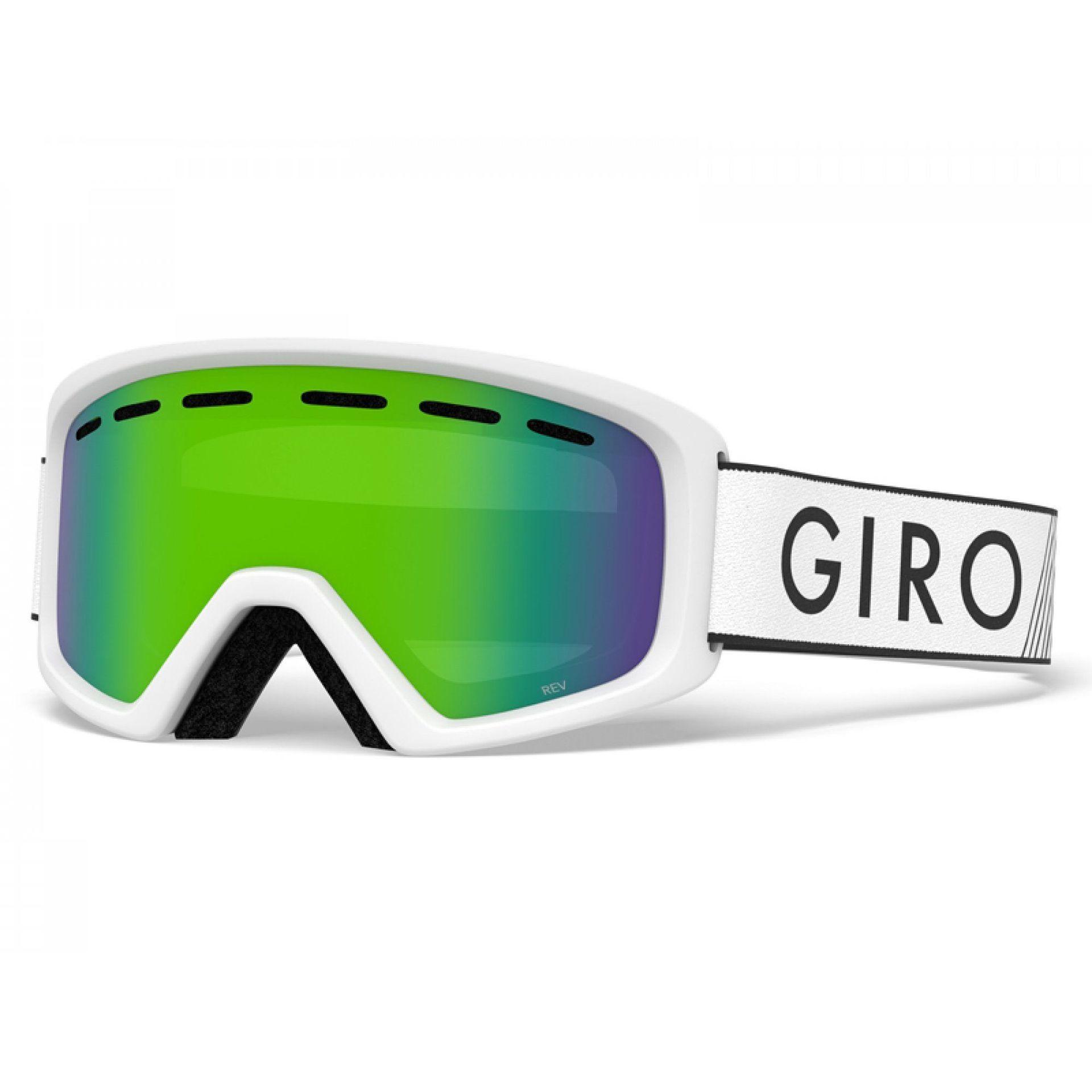 GOGLE GIRO REV WHITE ZOOM|LODEN GREEN 1