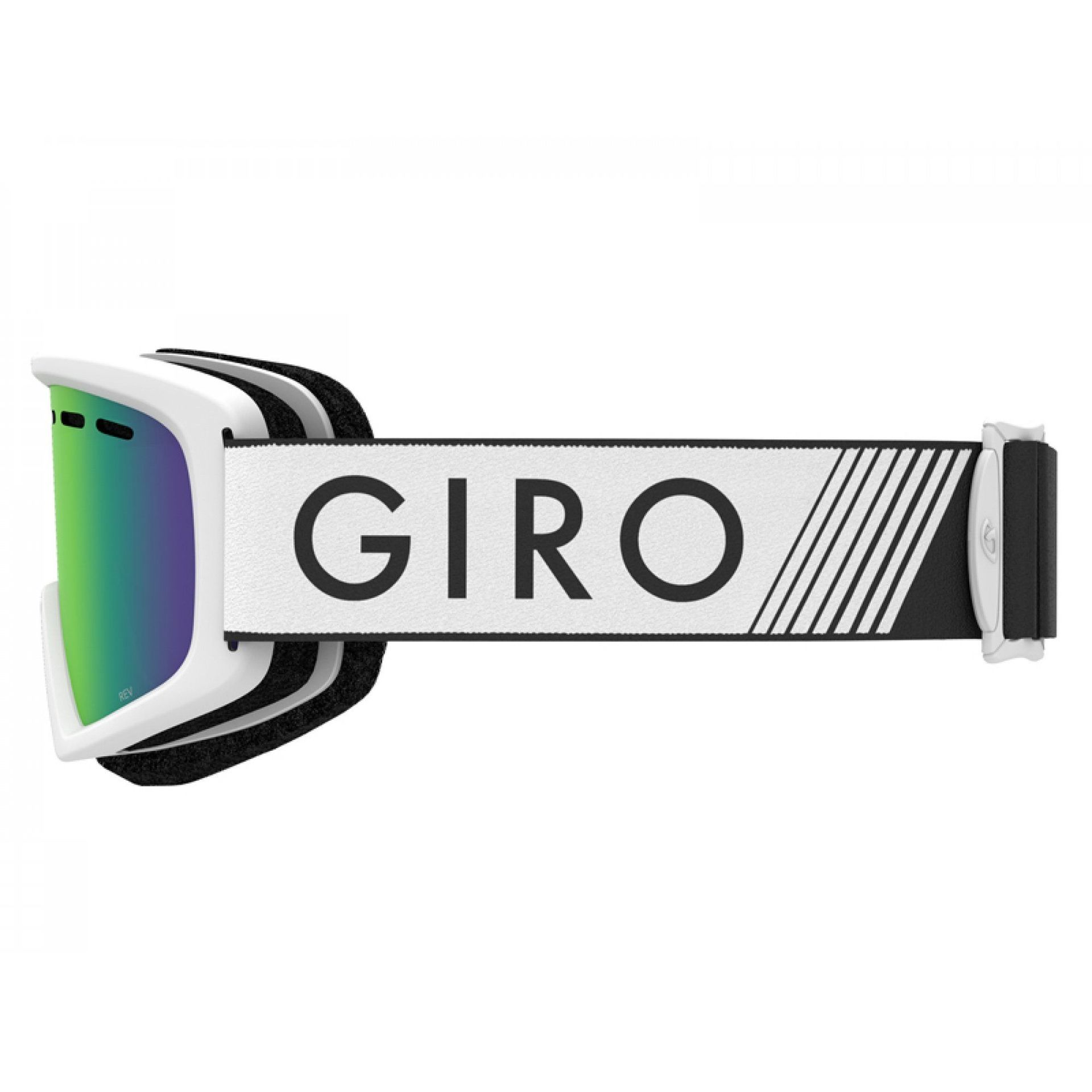 GOGLE GIRO REV WHITE ZOOM|LODEN GREEN 3
