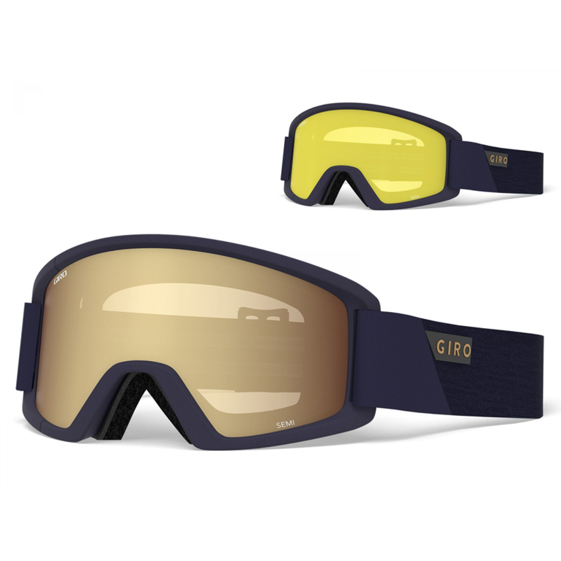 GOGLE GIRO SEMI MIDNIGHT PEAK|AMBER GOLD 1