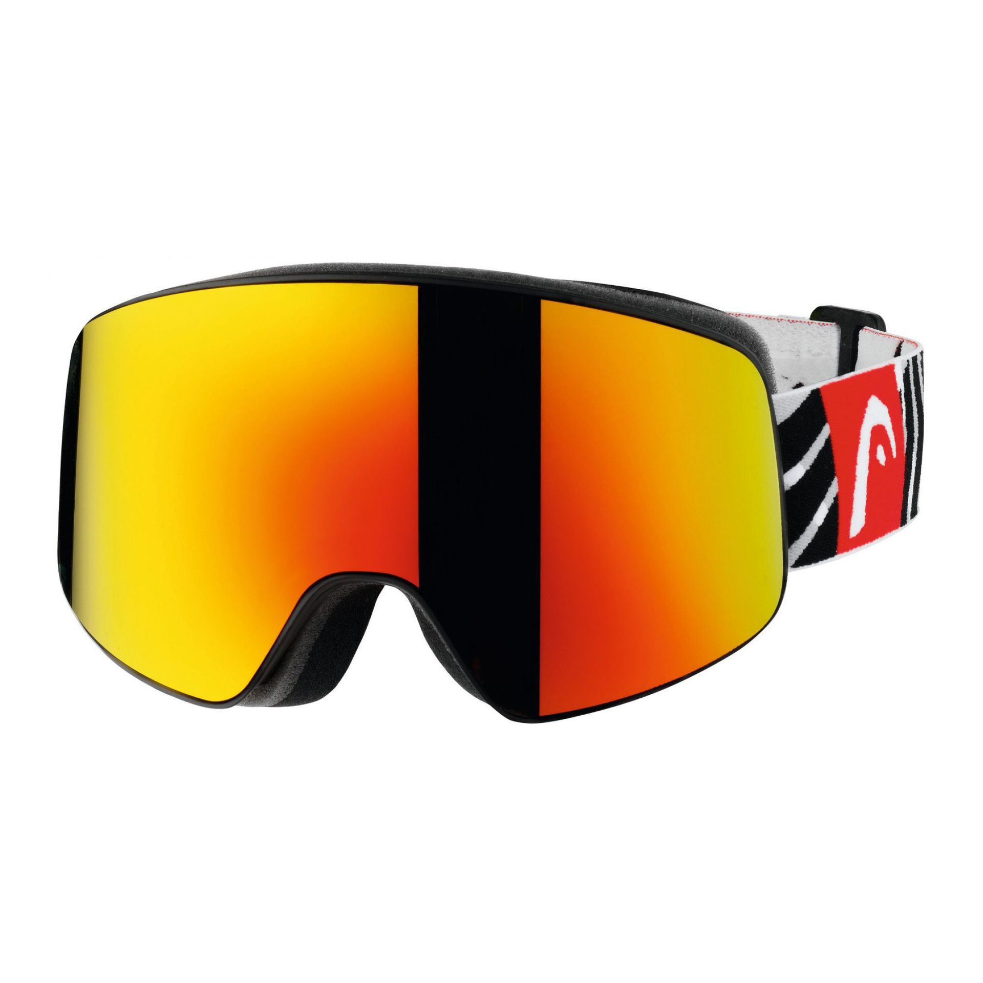 GOGLE HEAD HORIZON FMR BLACK RED