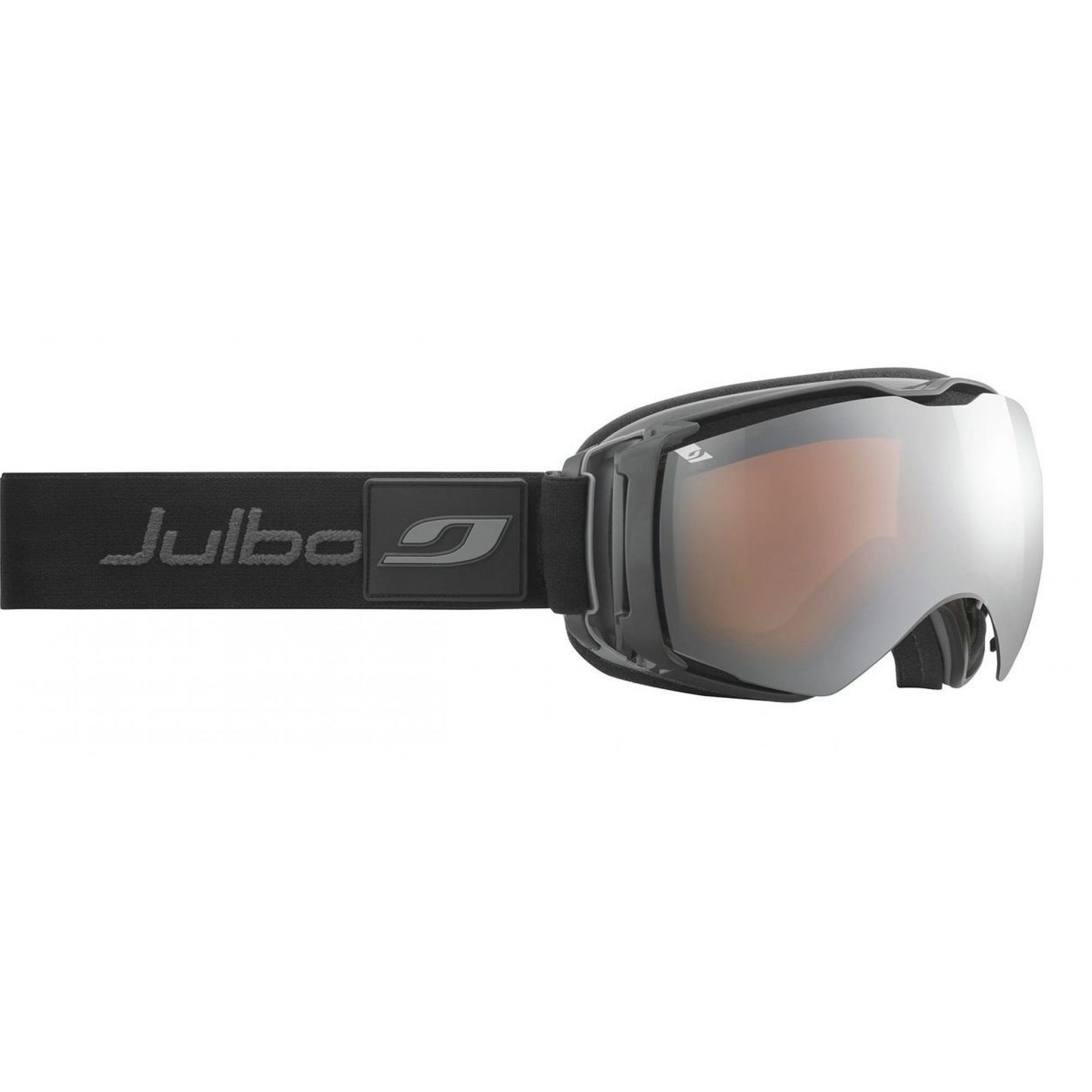 GOGLE JULBO AIRFLUX BLACK|GREY|ORANGE SCREEN SILVER FLASH