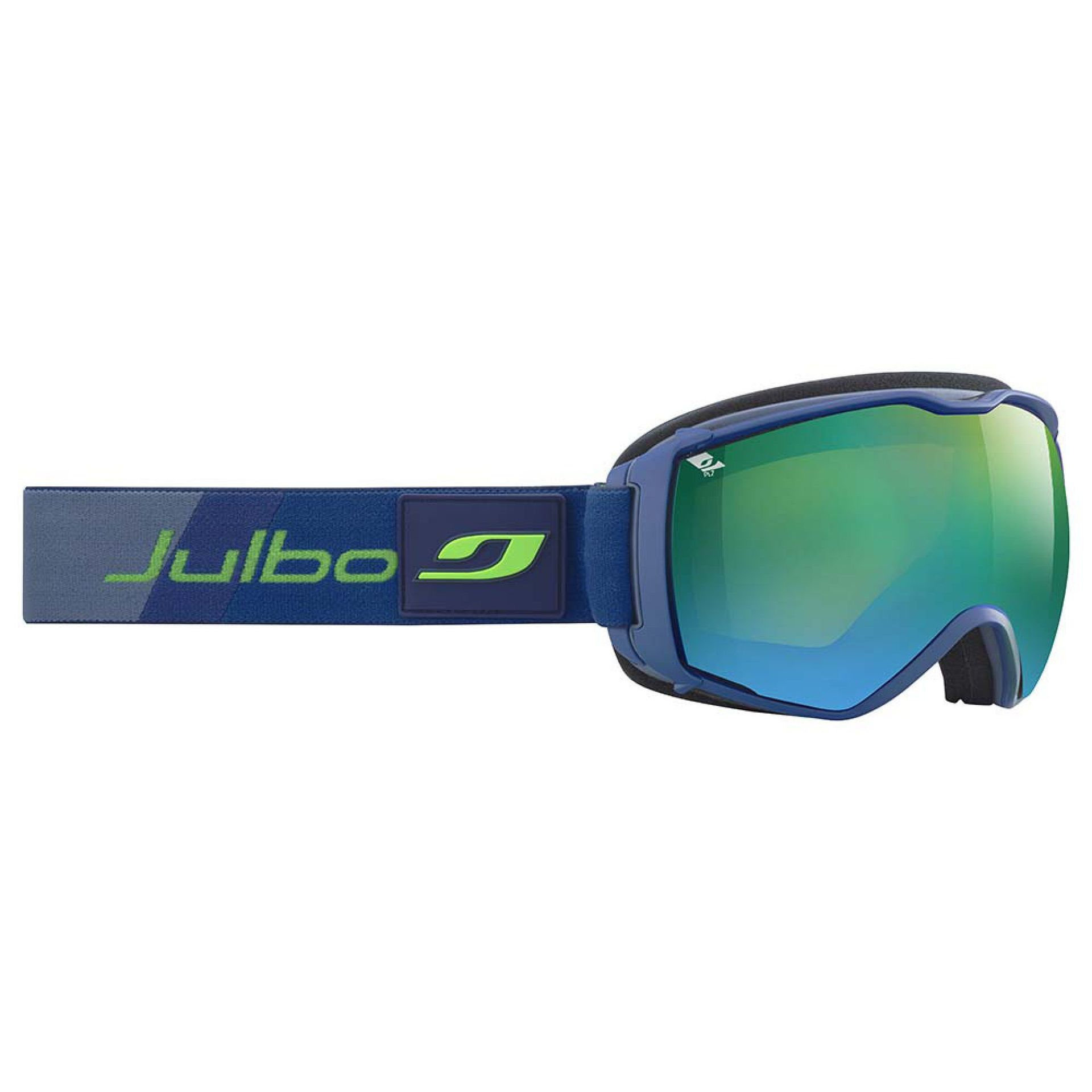 GOGLE JULBO AIRFLUX BLUE|ORANGE SCREEN|MULTILAYER GREEN POLARIZED