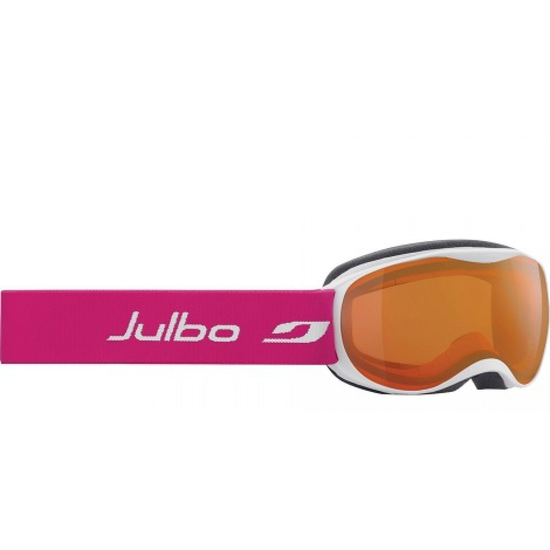 GOGLE JULBO ATMO WHITE|FUCHSIA|ORANGE SCREEN SPECTRON