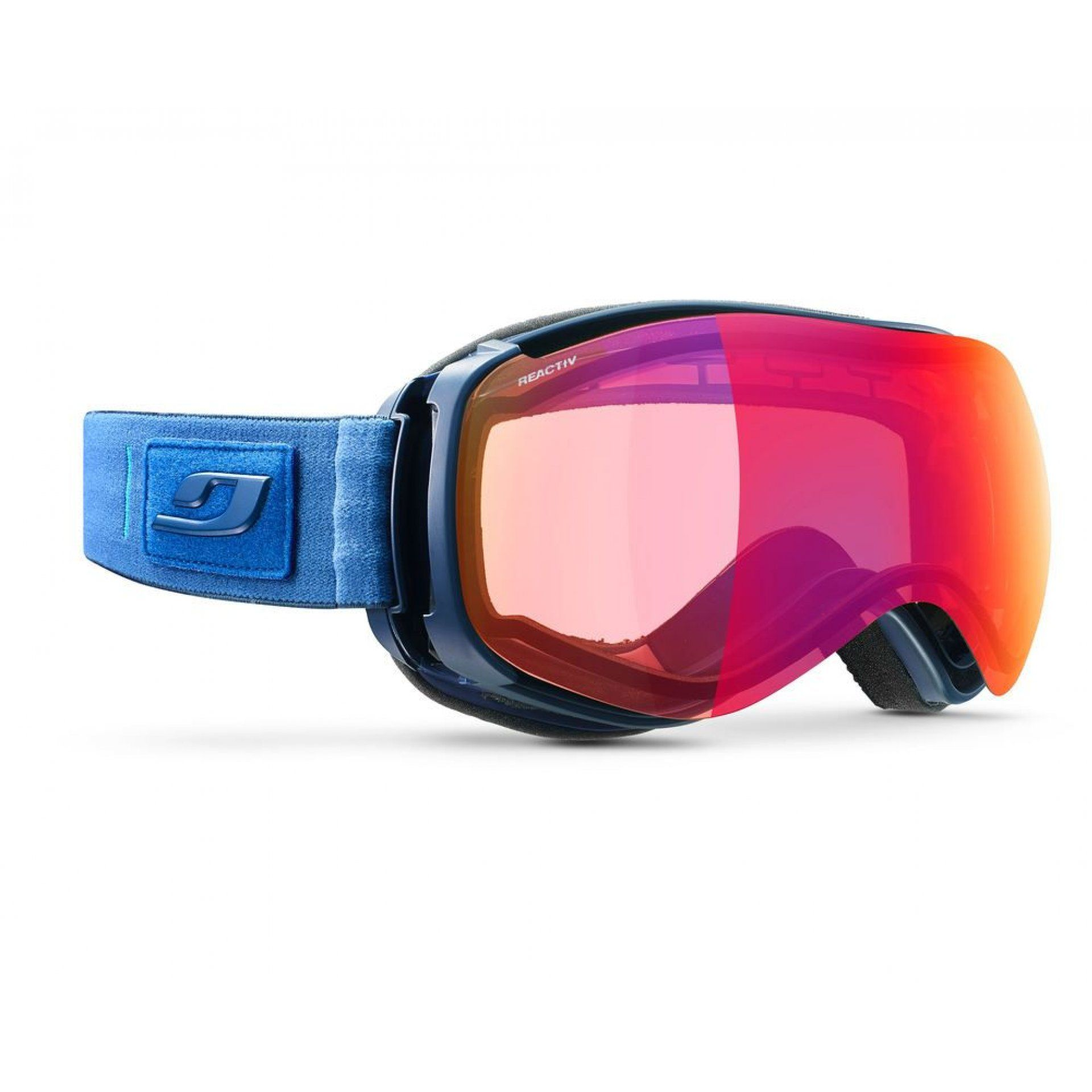 GOGLE JULBO STARWIND BLUE|PHOTOCHROMIC SNOW TIGER J754-73128