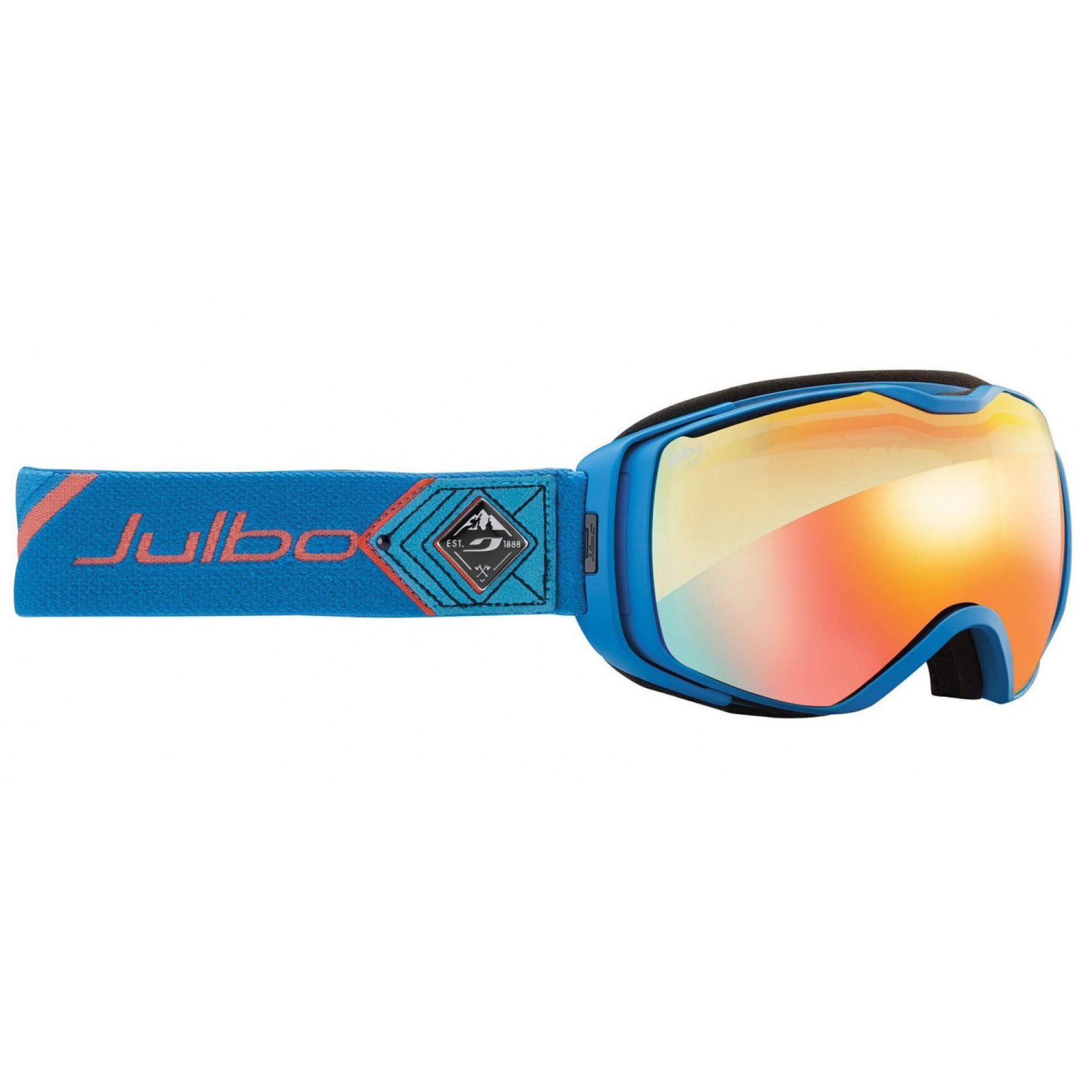 GOGLE JULBO UNIVERSE  BLUEORANGE MULTILAYER FIRE ZEBRA LIGHT