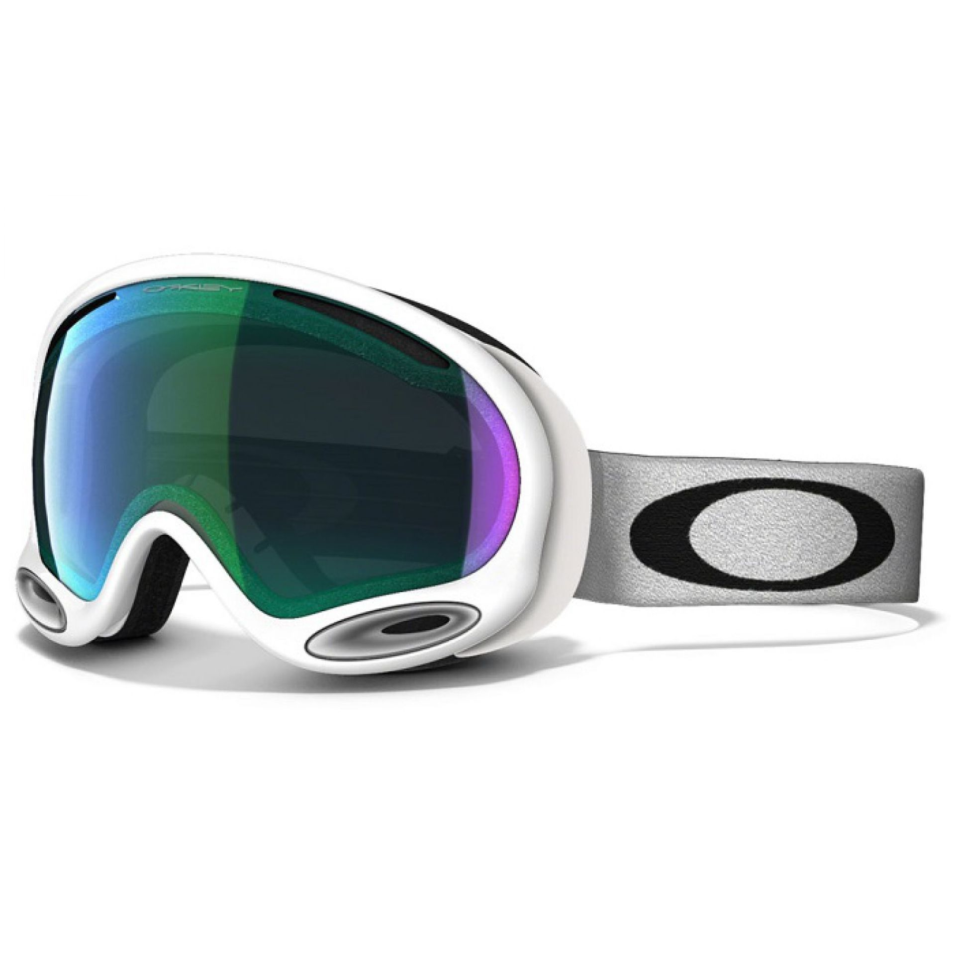 GOGLE OAKLEY A-FRAME POLISHED WHITE JADE IRIDIUM