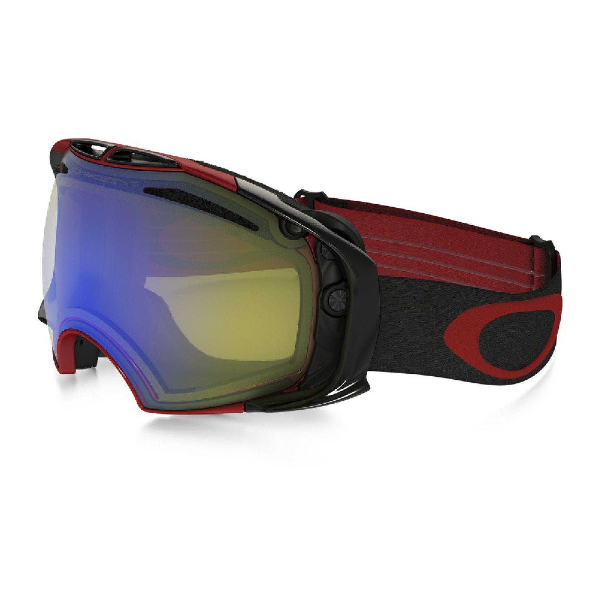 GOGLE OAKLEY AIRBRAKE RED YELLOW