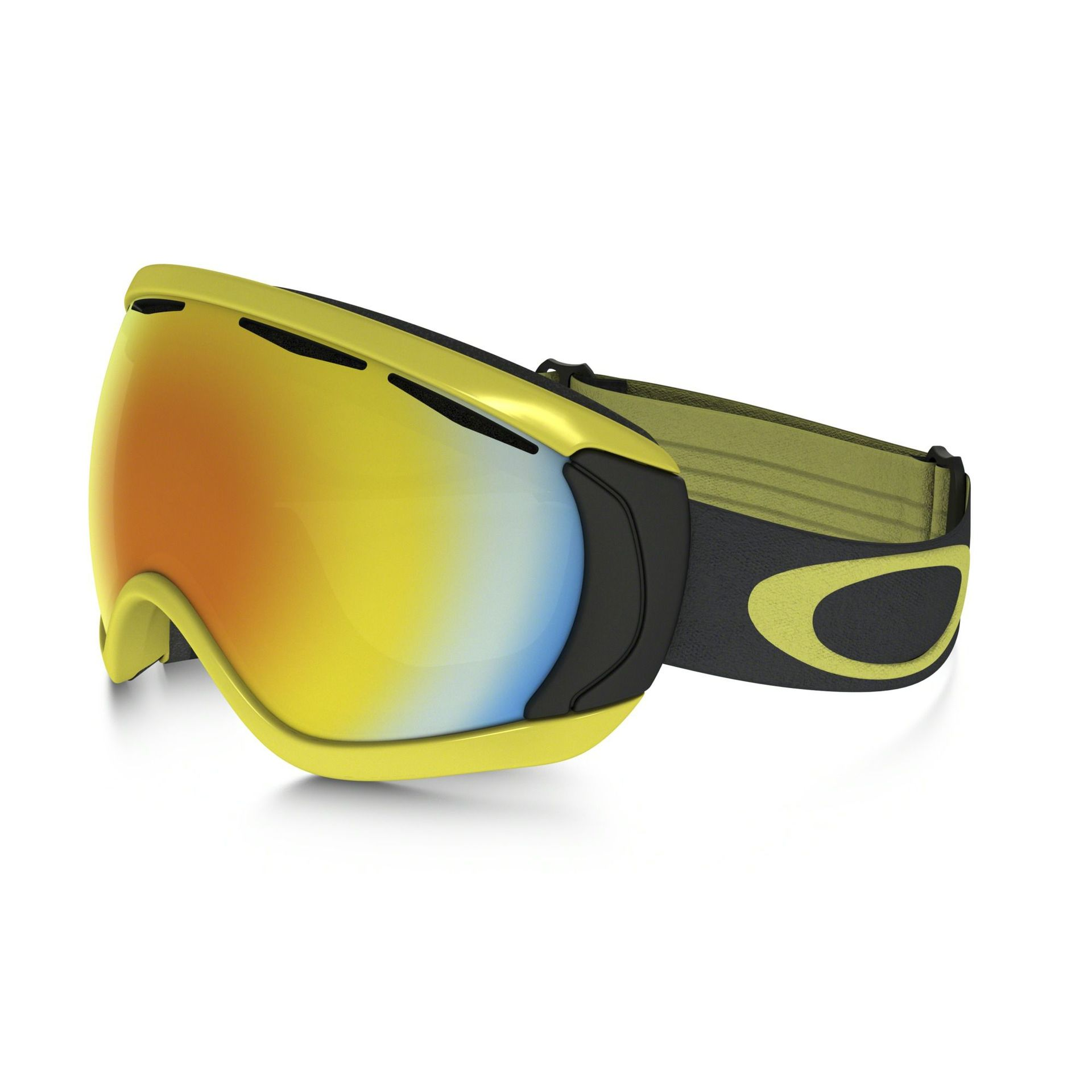 GOGLE OAKLEY CANOPY CITRUS IRON FIRE IRIDIUM