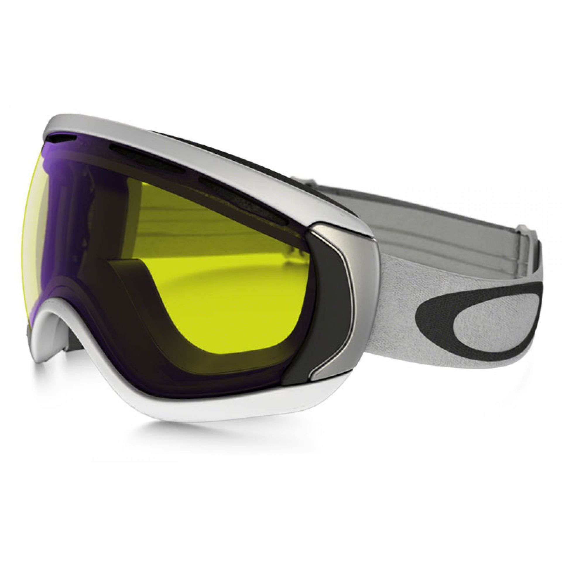 GOGLE OAKLEY CANOPY MATT WHITE|HI YELLOW